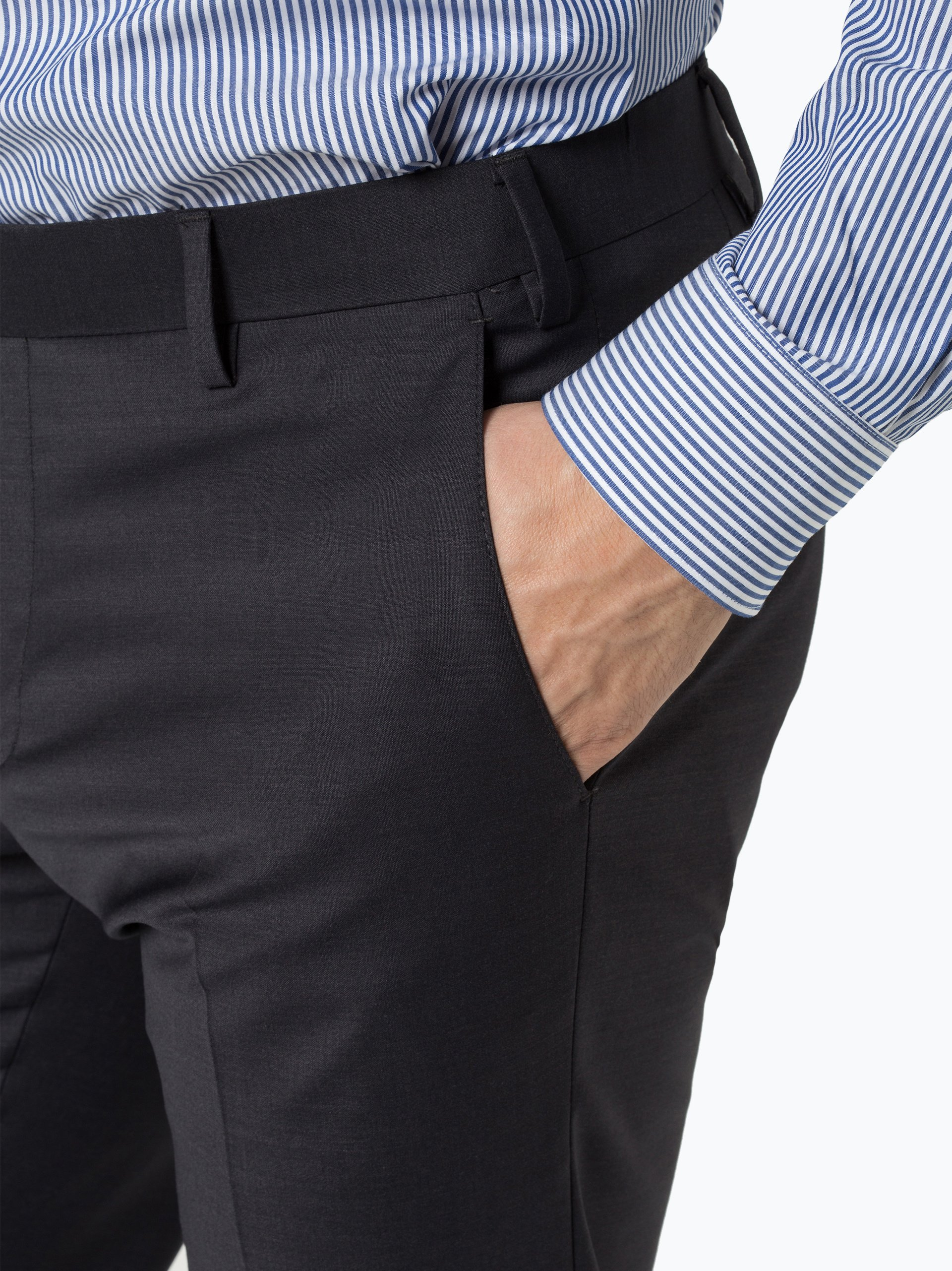 Finshley & Harding Męskie spodnie od garnituru modułowego – Black Label