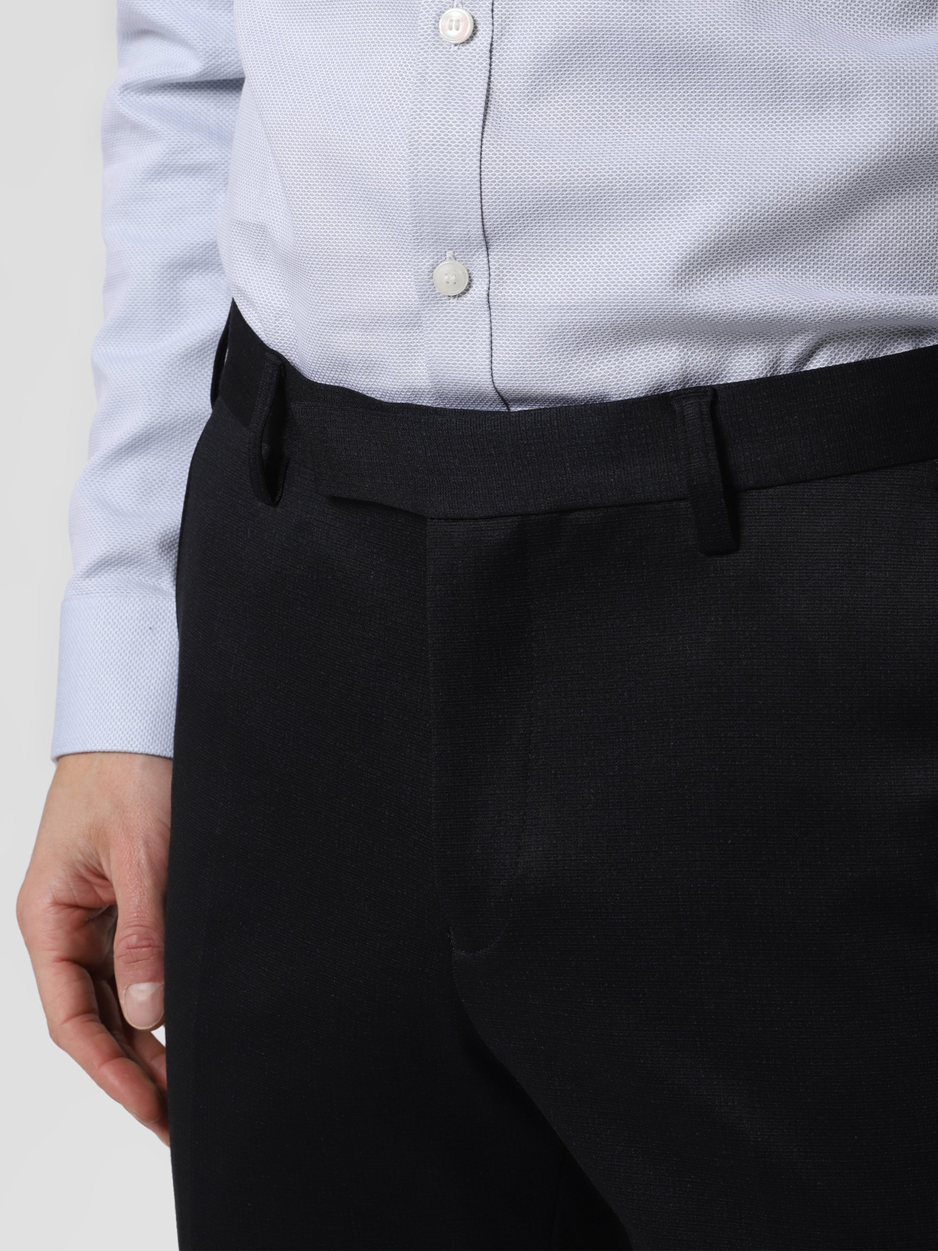 Finshley & Harding Męskie spodnie od garnituru modułowego – Mitch-J