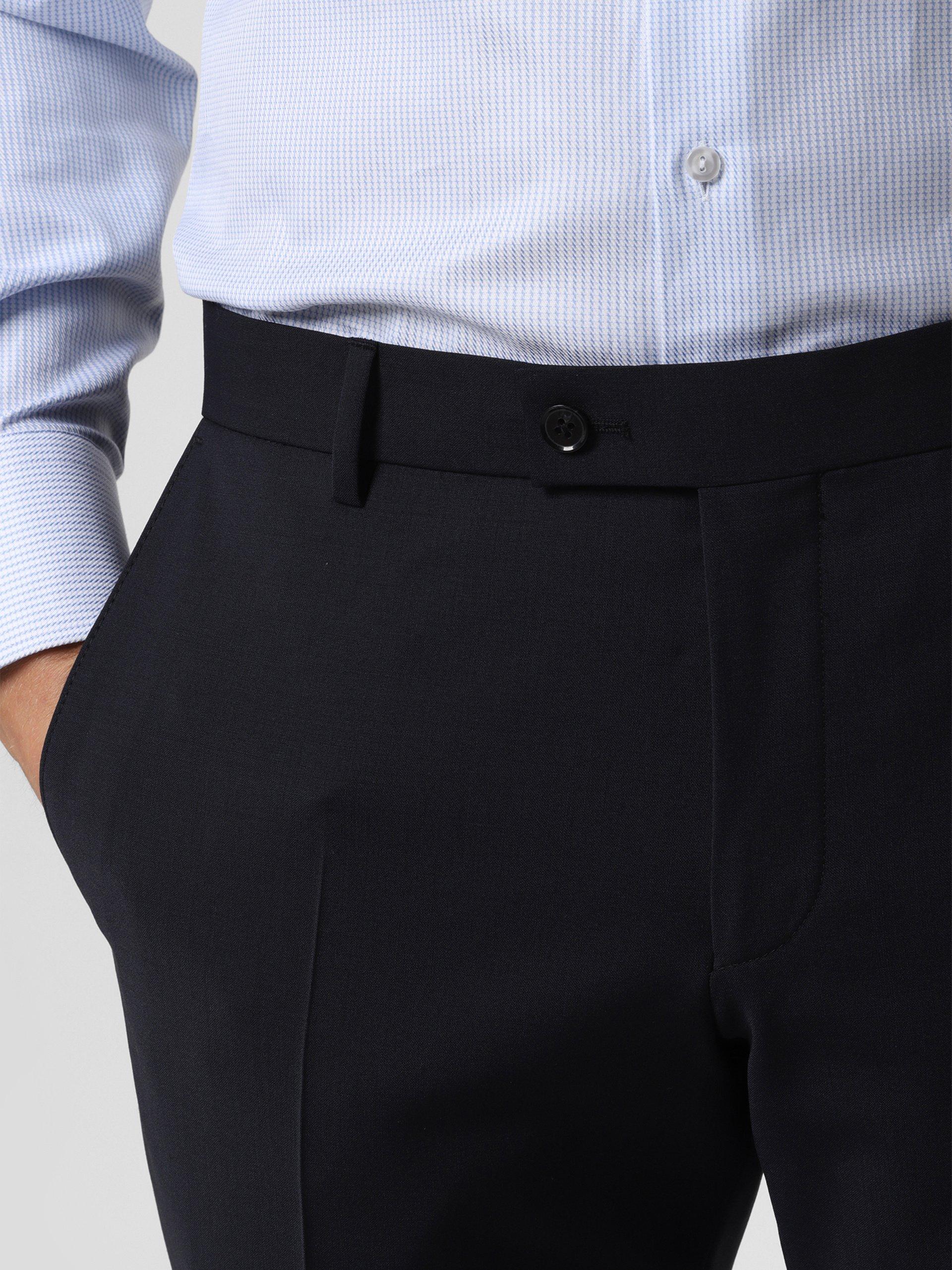 Finshley & Harding Męskie spodnie od garnituru modułowego – Mitch