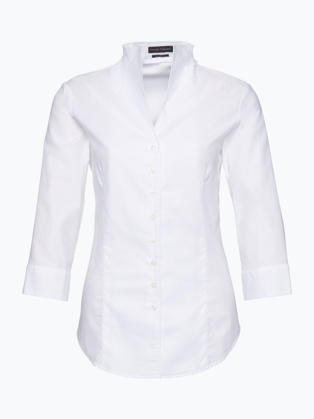 Franco Callegari Damen Bluse Bügelleicht-0