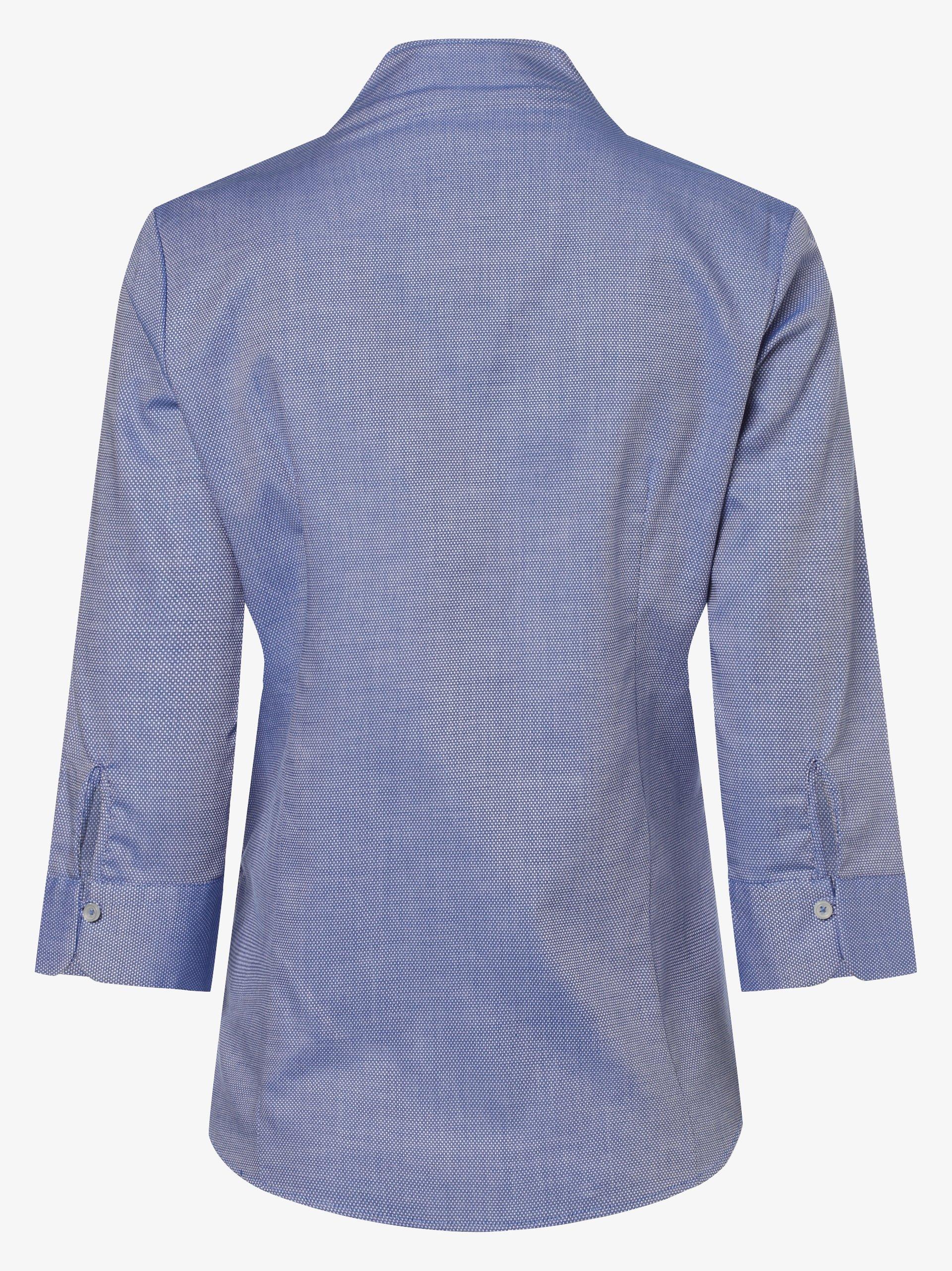 Franco Callegari Damen Bluse Bügelleicht