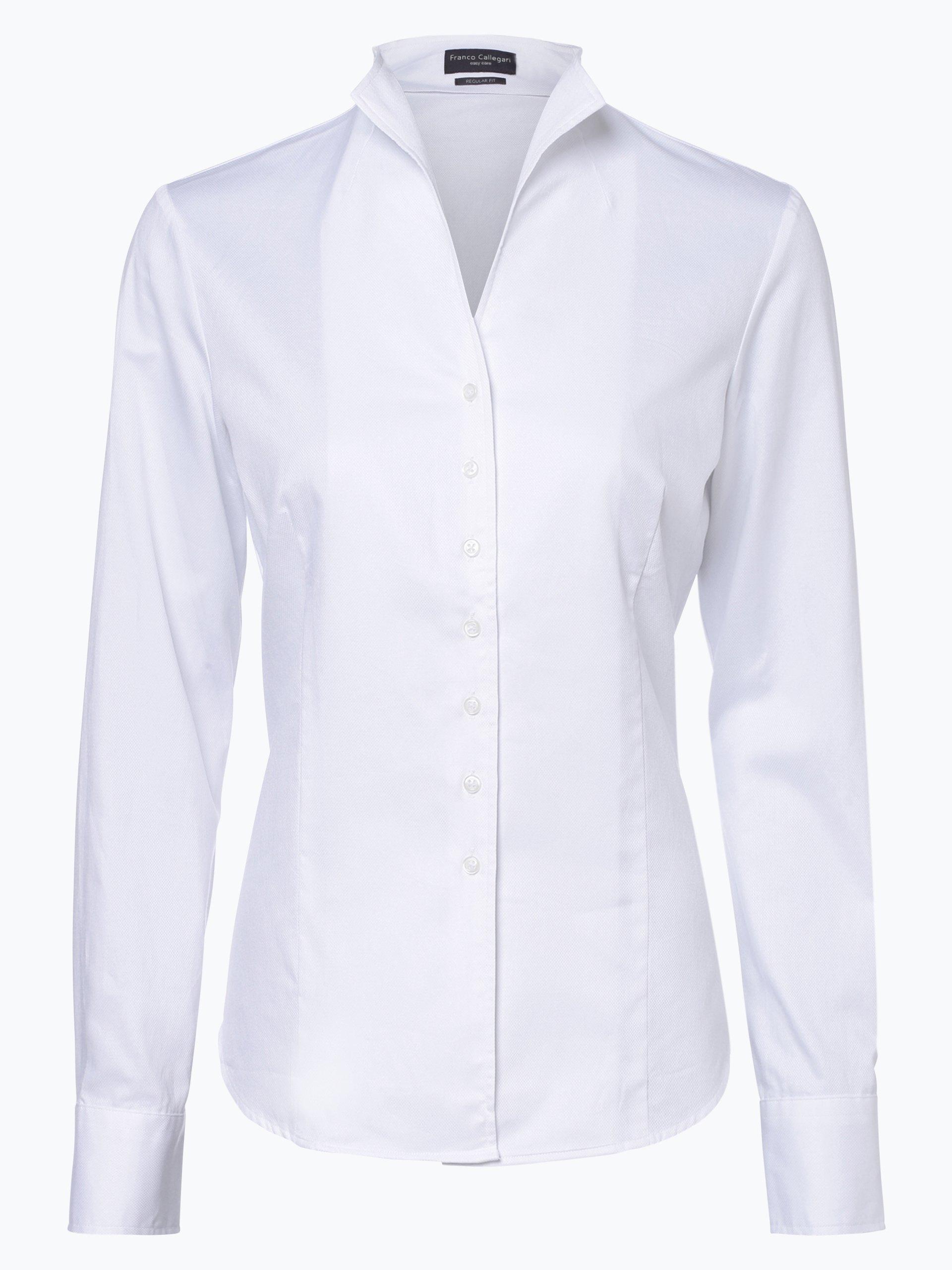 Franco Callegari Damen Bluse - Bügelleicht