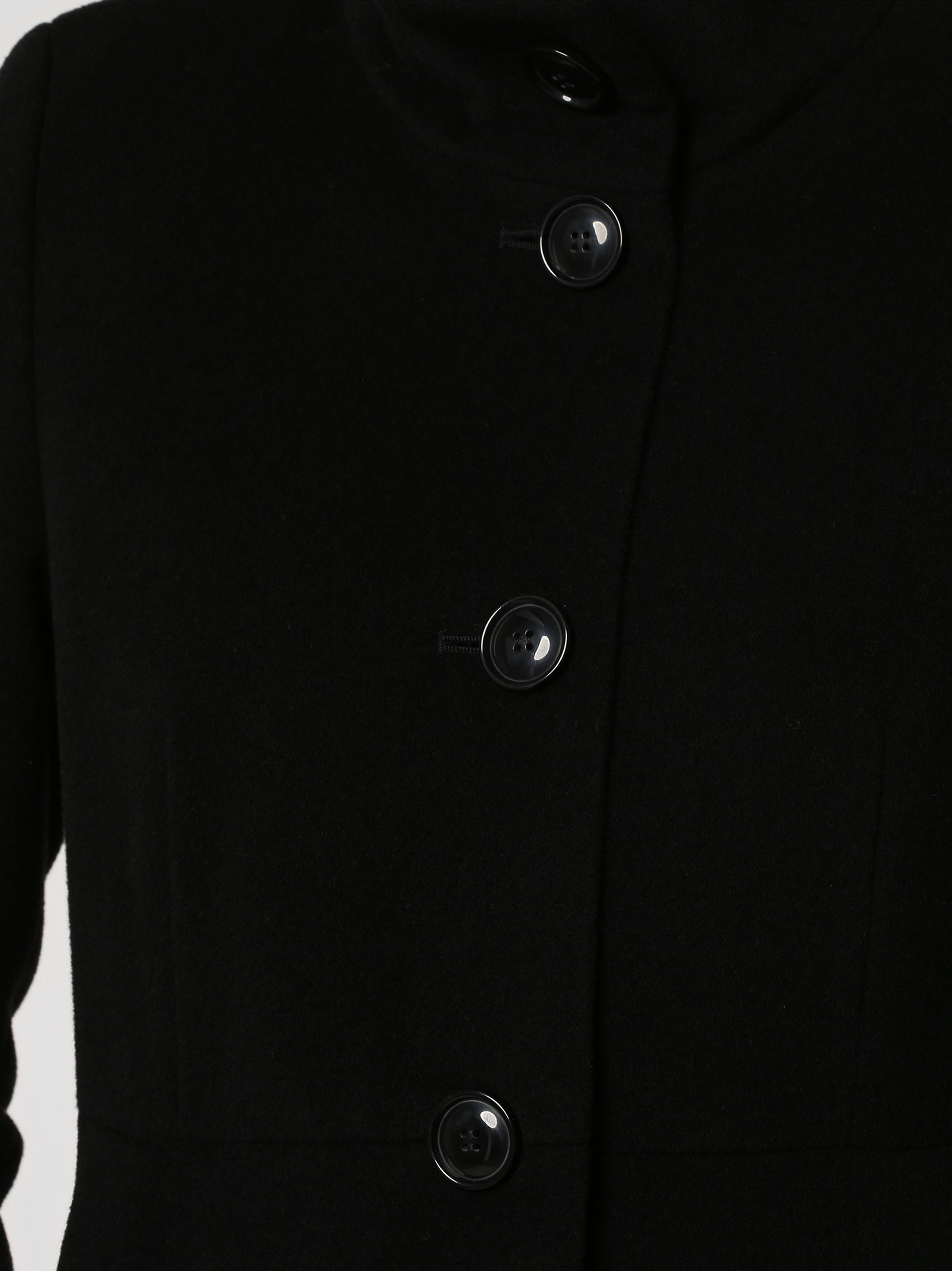 Franco Callegari Damen Mantel mit Cashmere-Anteil