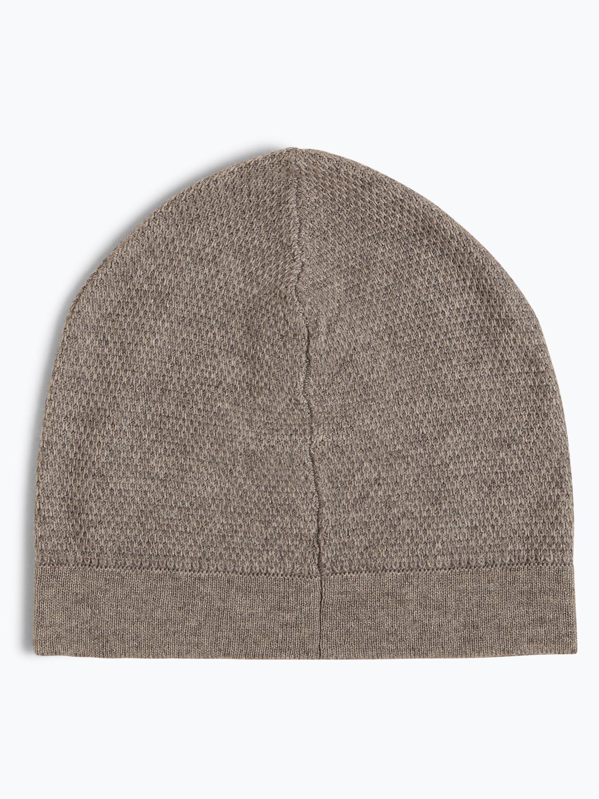 Franco Callegari Damen Mütze mit Merinowoll- und Alpaka-Anteil