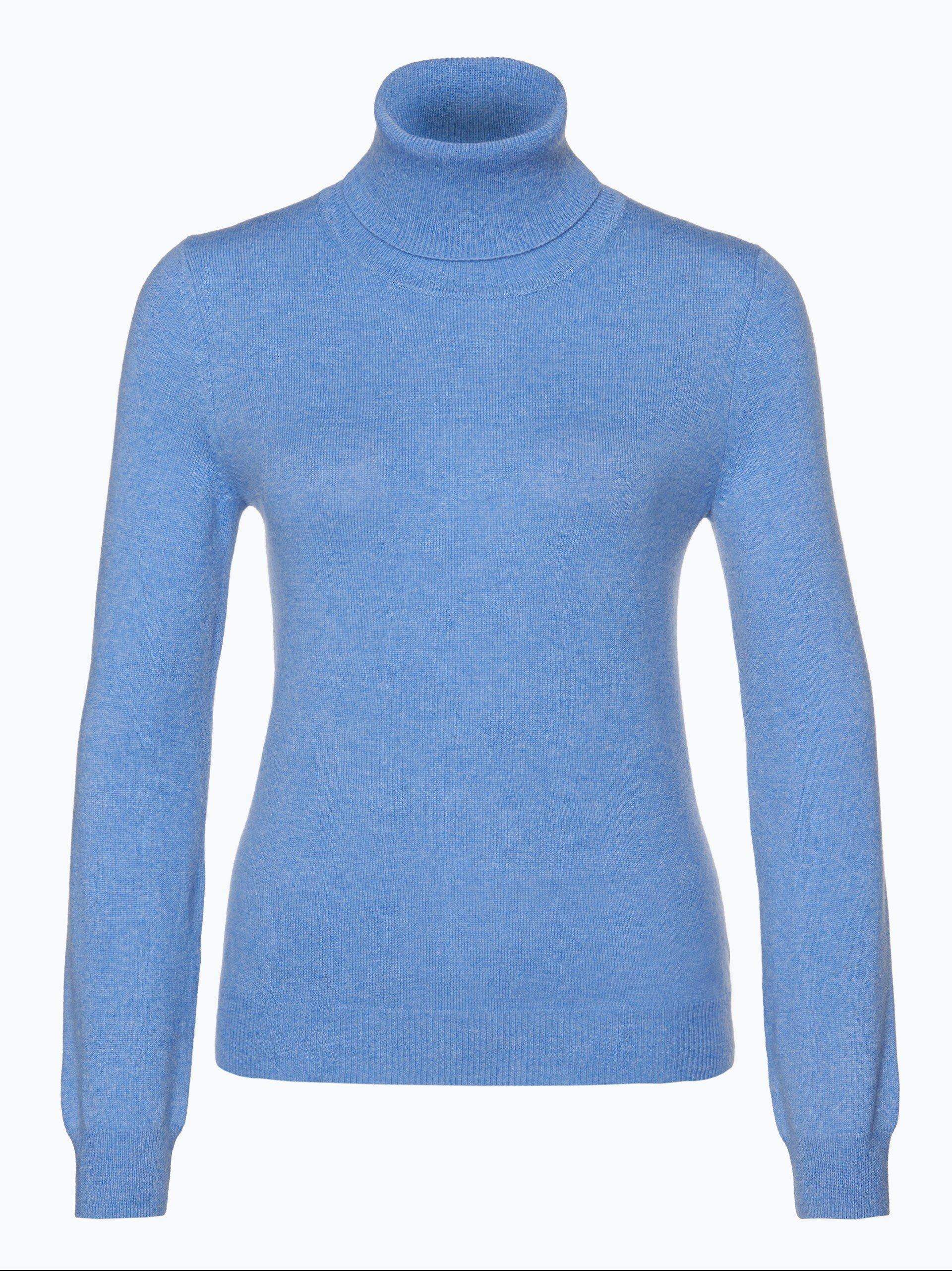 franco callegari damen pure cashmere pullover blau uni online kaufen vangraaf com. Black Bedroom Furniture Sets. Home Design Ideas