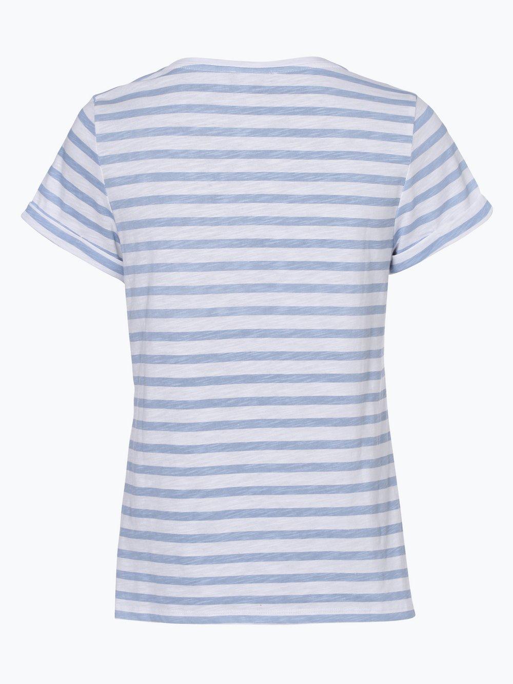 Damen T-Shirt blau Franco Callegari ONvcuRTRT