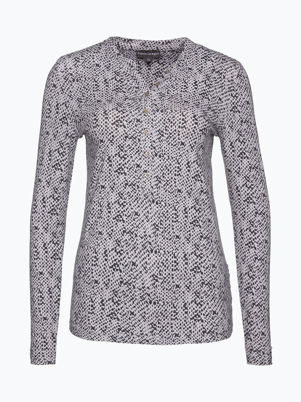 280bd6cb03ec9d Franco Callegari Damska koszulka z długim rękawem kup online ...