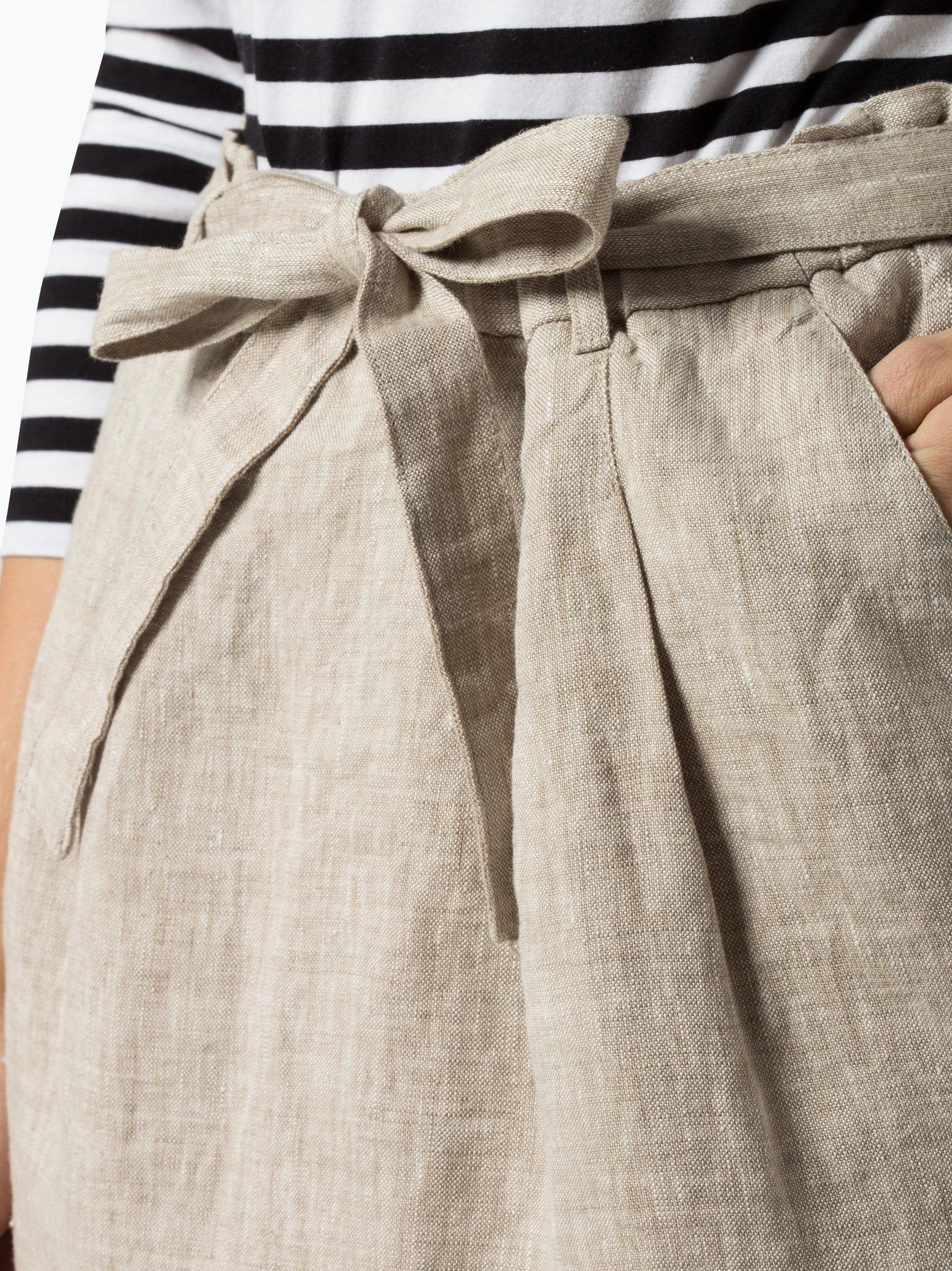 Franco Callegari Spódnica damska z lnu