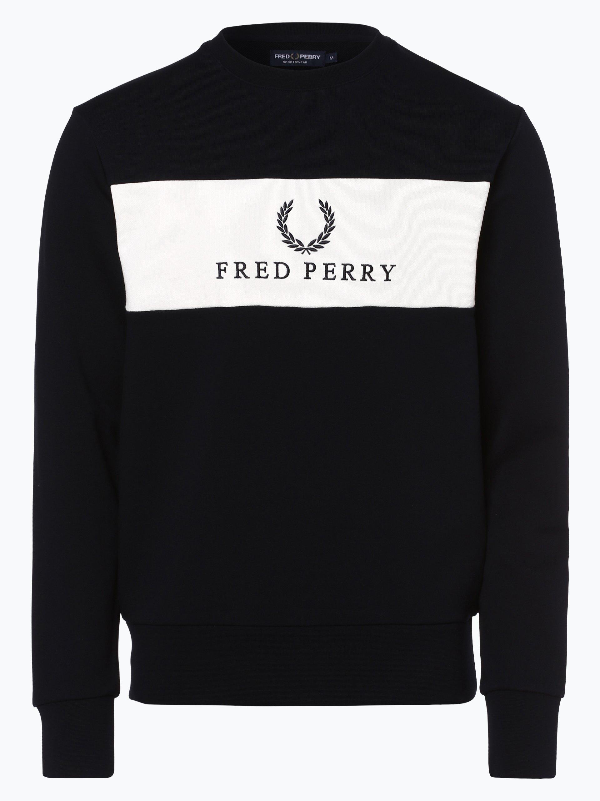 Fred Perry Męska bluza nierozpinana