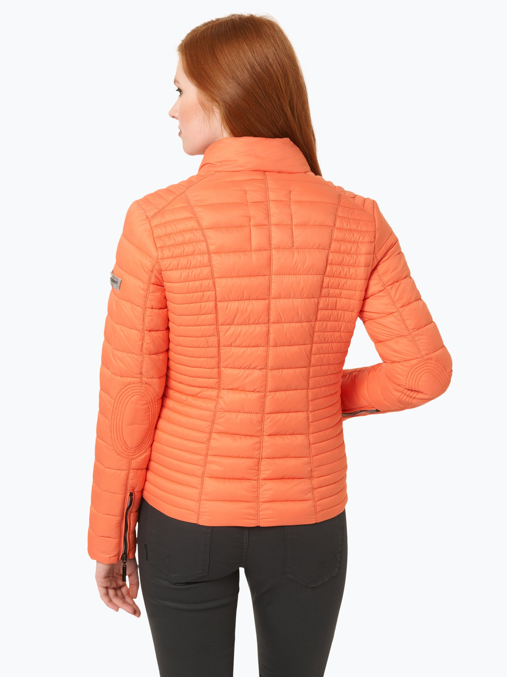 frieda freddies damen funktionsjacke orange uni online. Black Bedroom Furniture Sets. Home Design Ideas