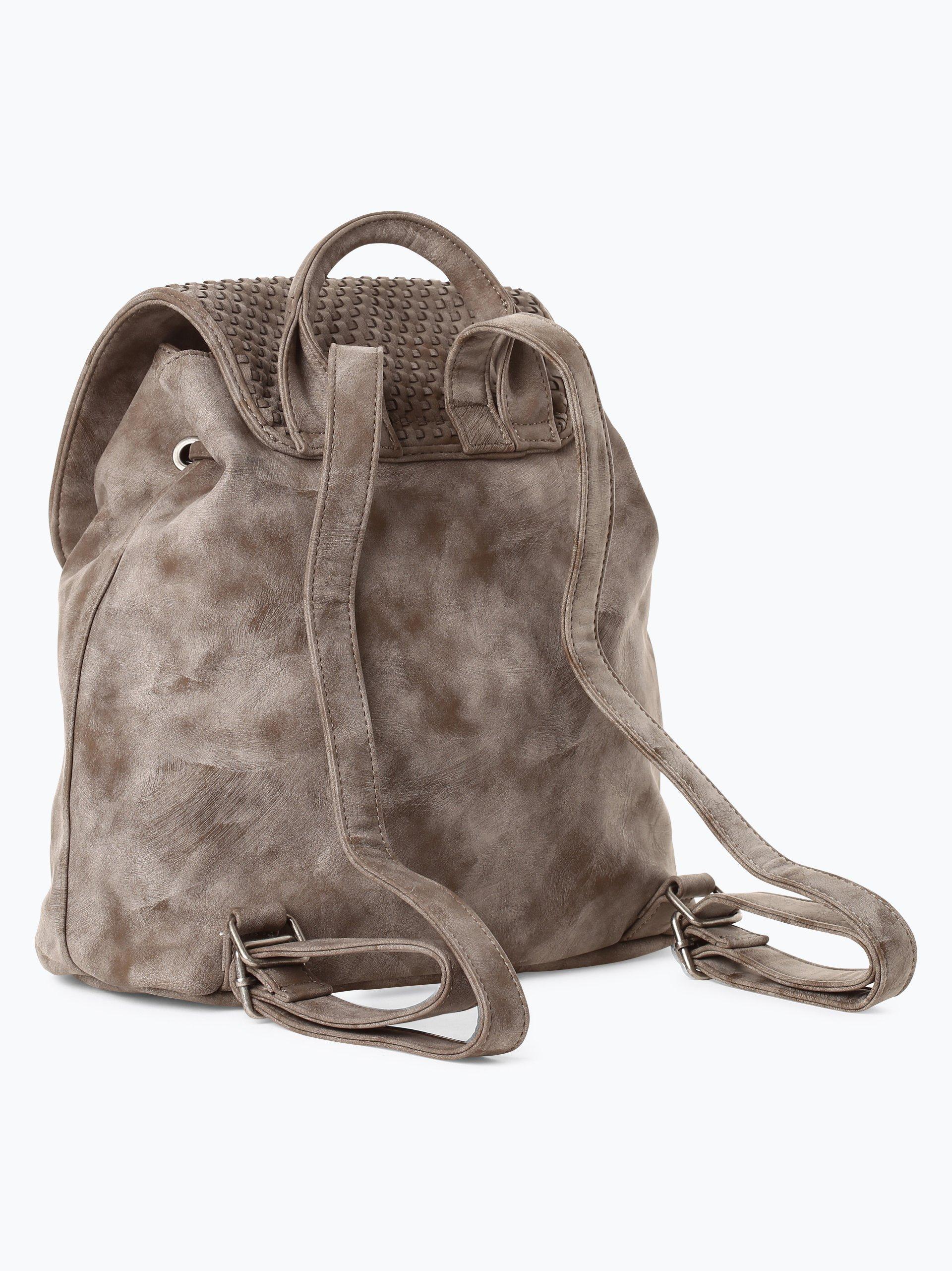 fritzi aus preussen damen rucksack cora khaki taupe uni online kaufen vangraaf com. Black Bedroom Furniture Sets. Home Design Ideas