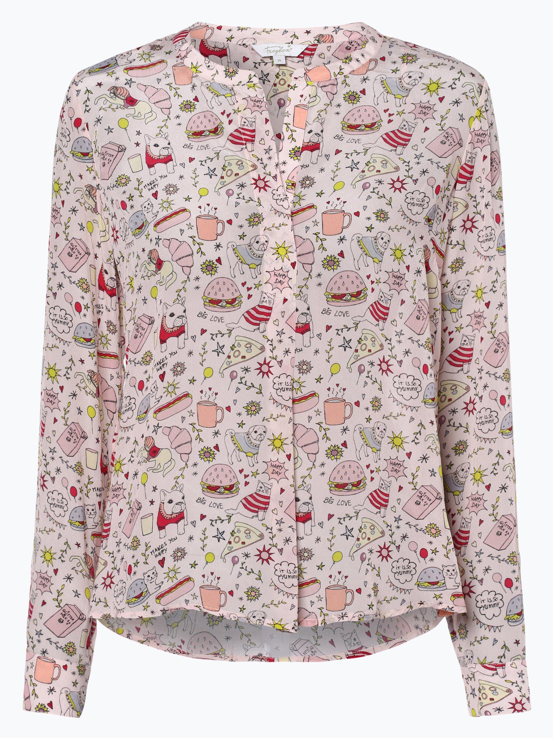 Frogbox Damen Bluse