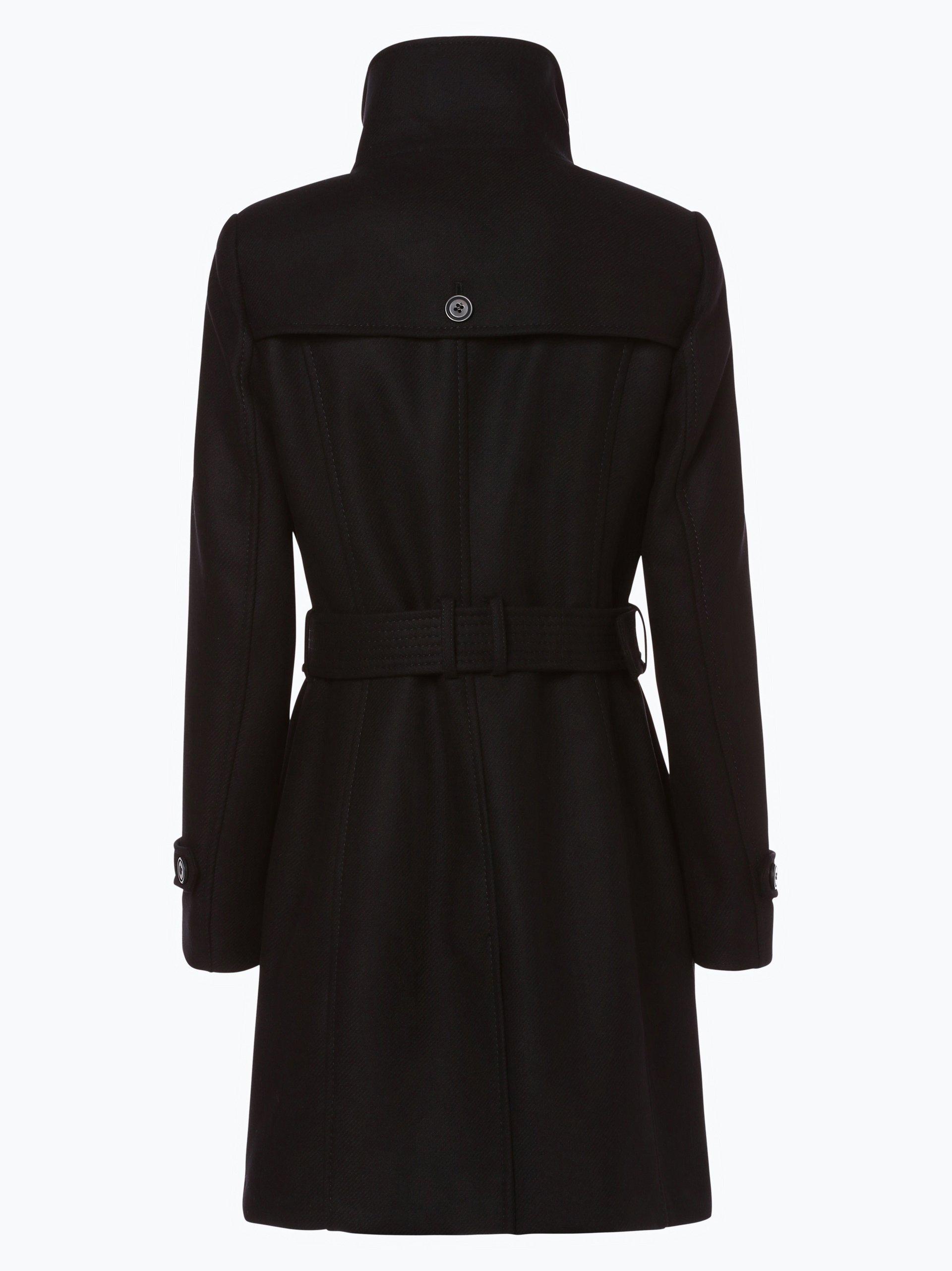 fuchs schmitt black damen mantel schwarz gestreift online kaufen peek und cloppenburg de. Black Bedroom Furniture Sets. Home Design Ideas