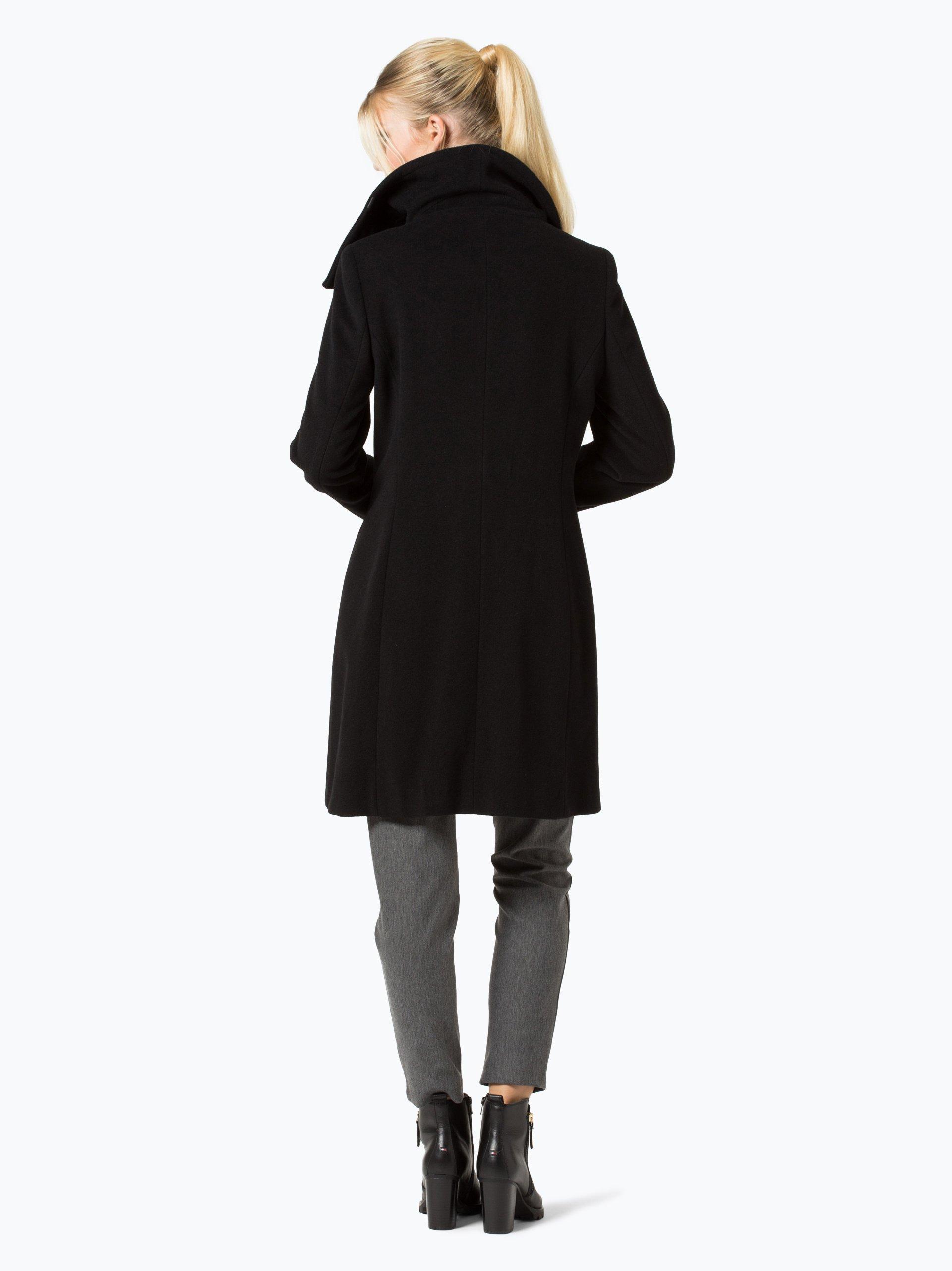 fuchs schmitt damen mantel mit cashmere anteil schwarz uni online kaufen peek und cloppenburg de. Black Bedroom Furniture Sets. Home Design Ideas