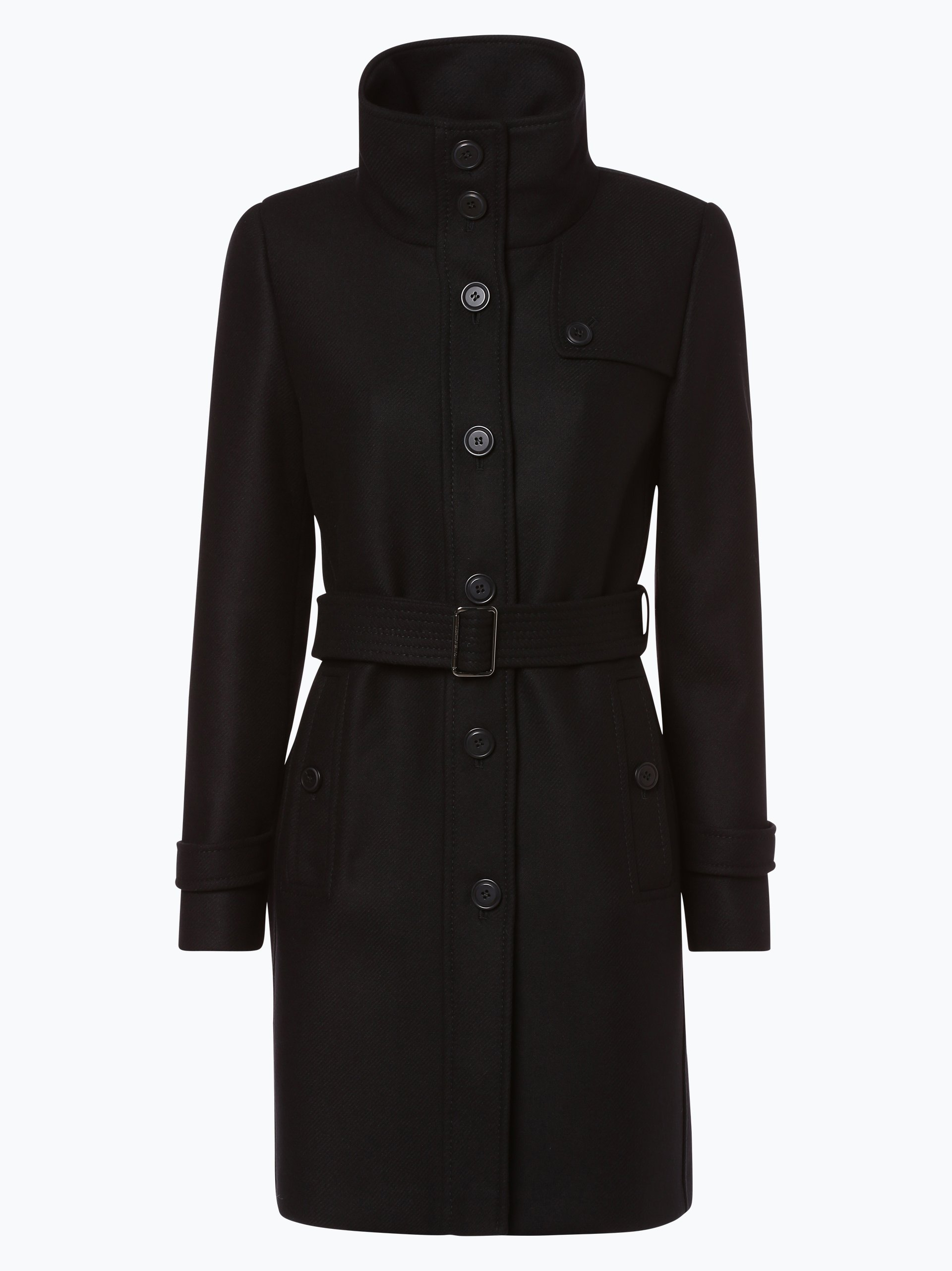 fuchs schmitt damen mantel schwarz gestreift online kaufen peek und cloppenburg de. Black Bedroom Furniture Sets. Home Design Ideas