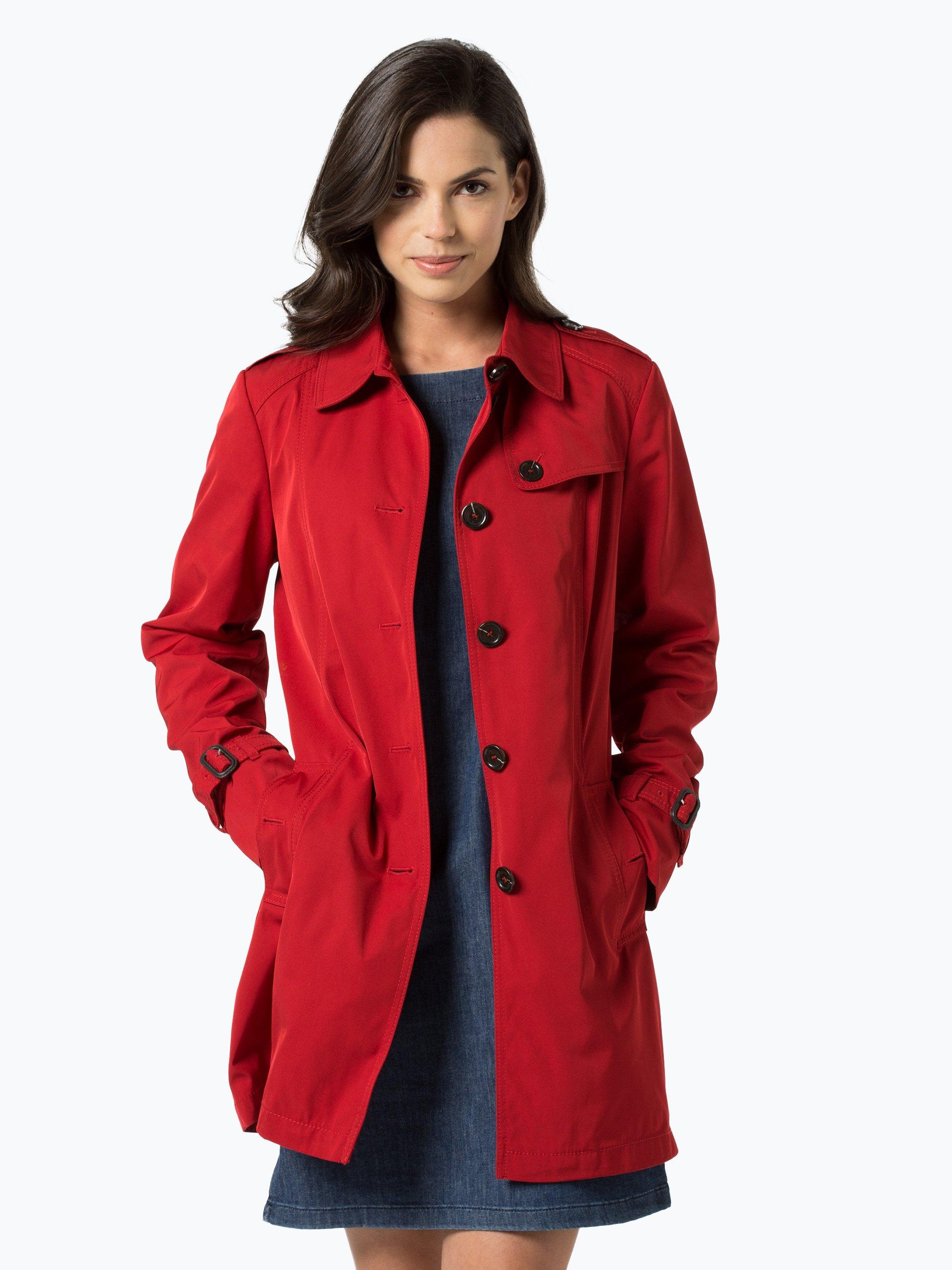 fuchs schmitt damen mantel rot uni online kaufen peek und cloppenburg de. Black Bedroom Furniture Sets. Home Design Ideas