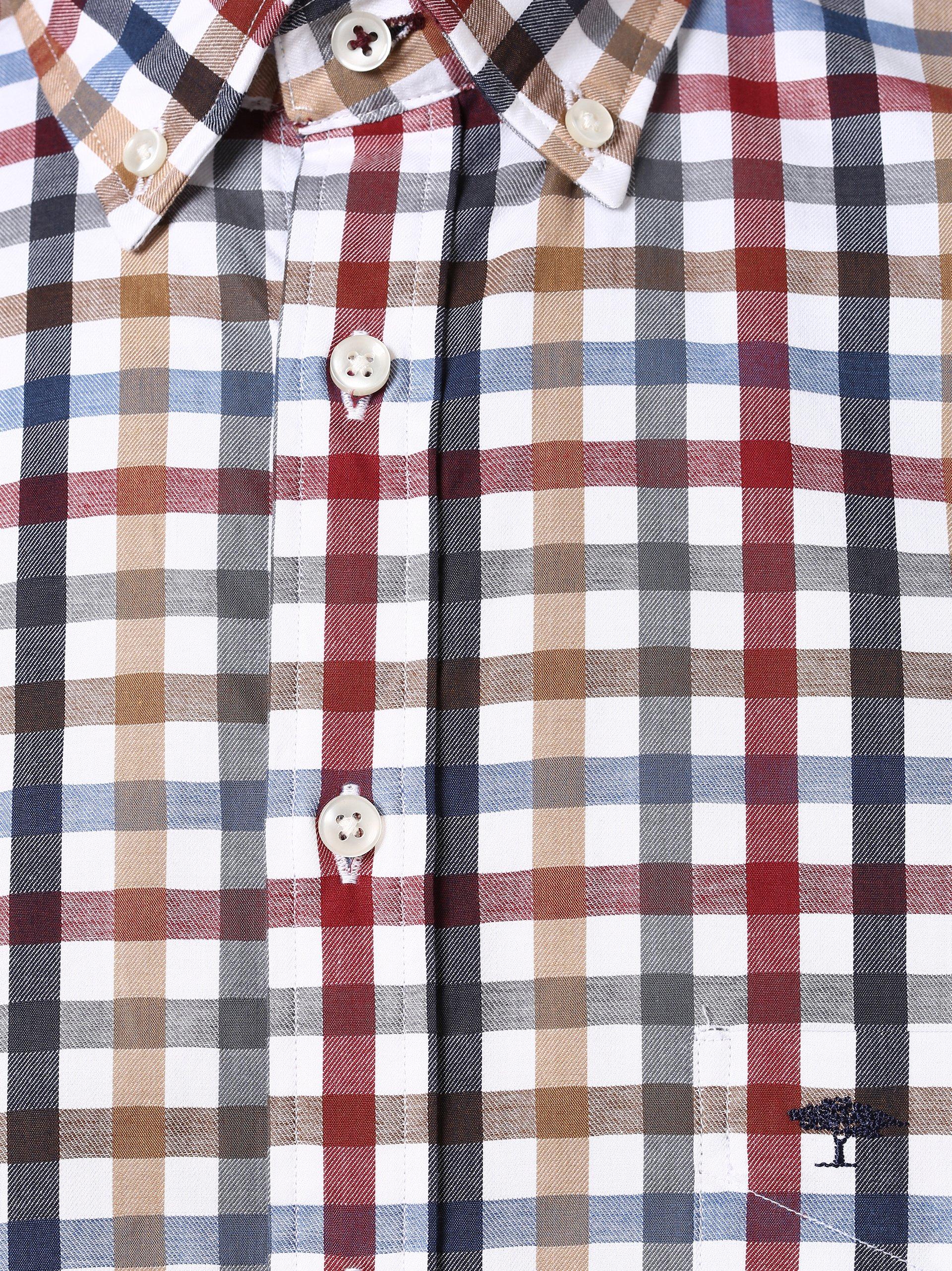 Fynch Hatton Herren Hemd - Bügelleicht