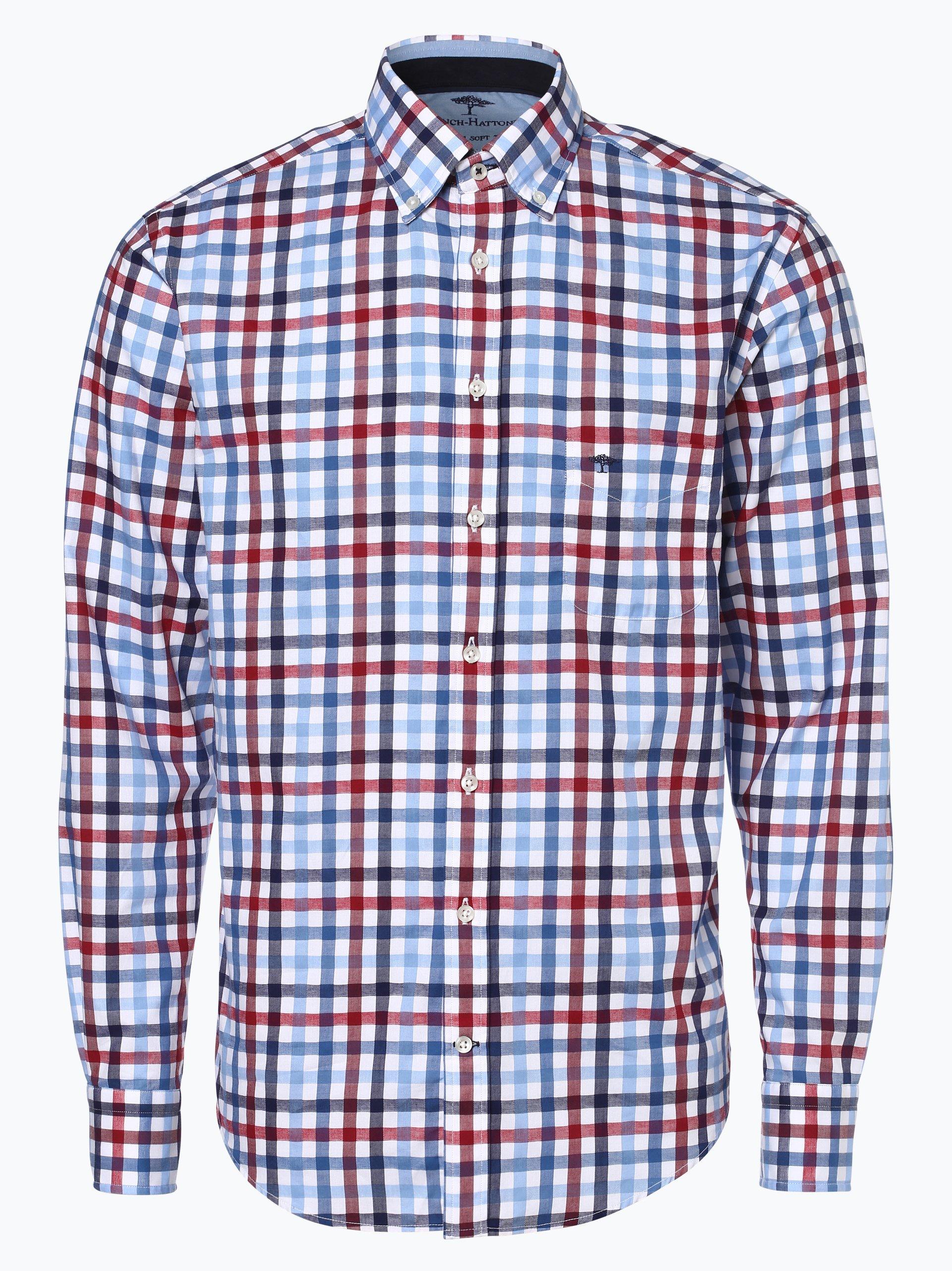Fynch-Hatton Herren Hemd - Bügelleicht