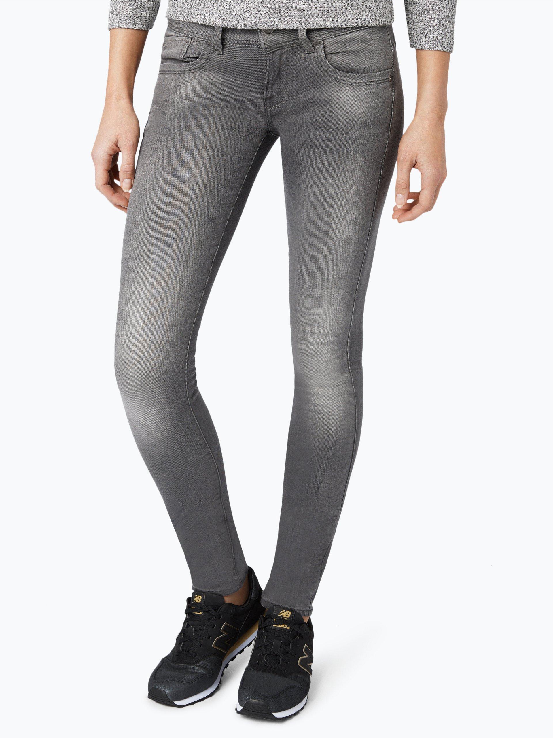 g star damen jeans lynn mid skinny grau uni online. Black Bedroom Furniture Sets. Home Design Ideas