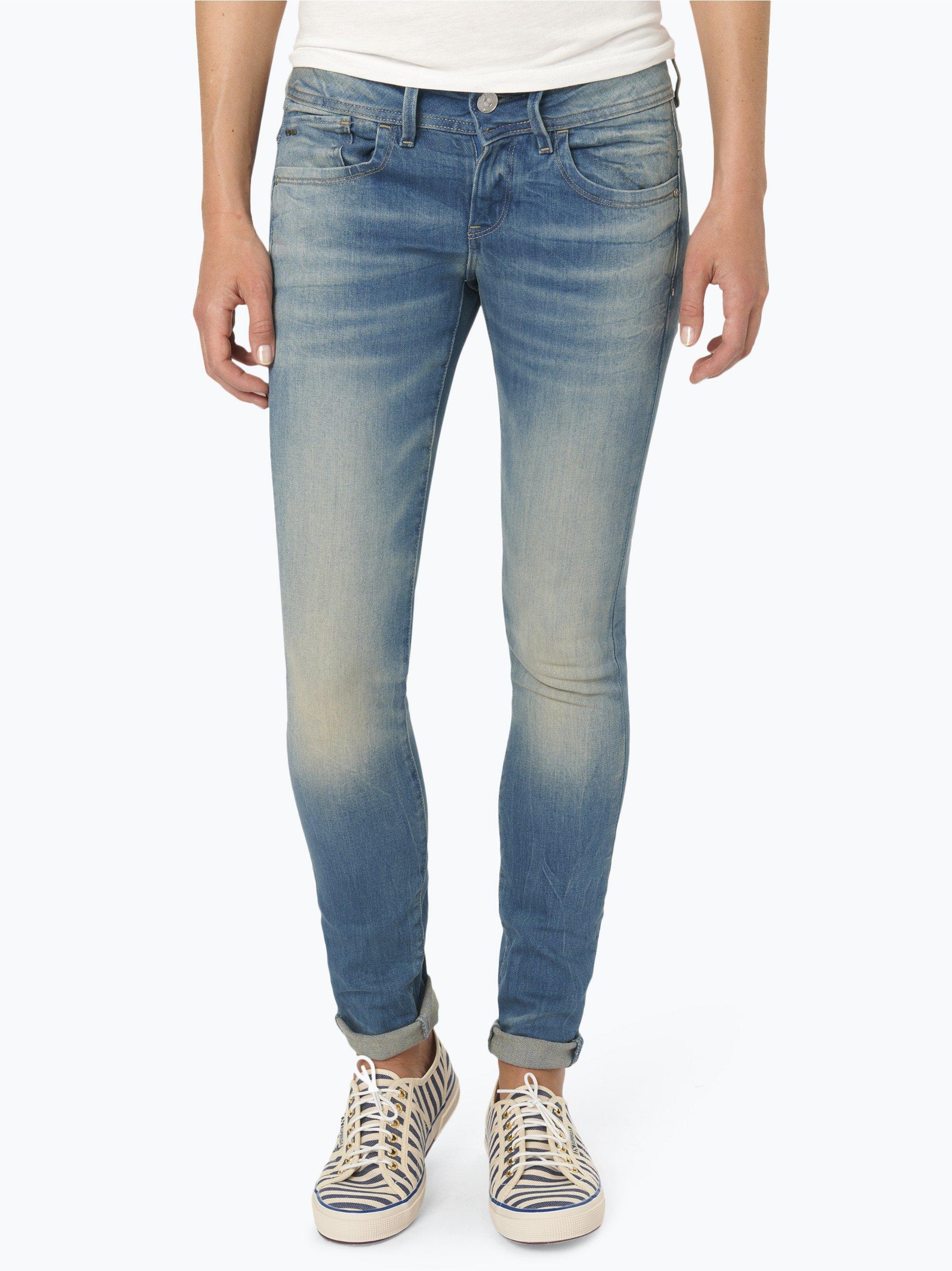 g star damen jeans lynn hellblau blau uni online kaufen. Black Bedroom Furniture Sets. Home Design Ideas