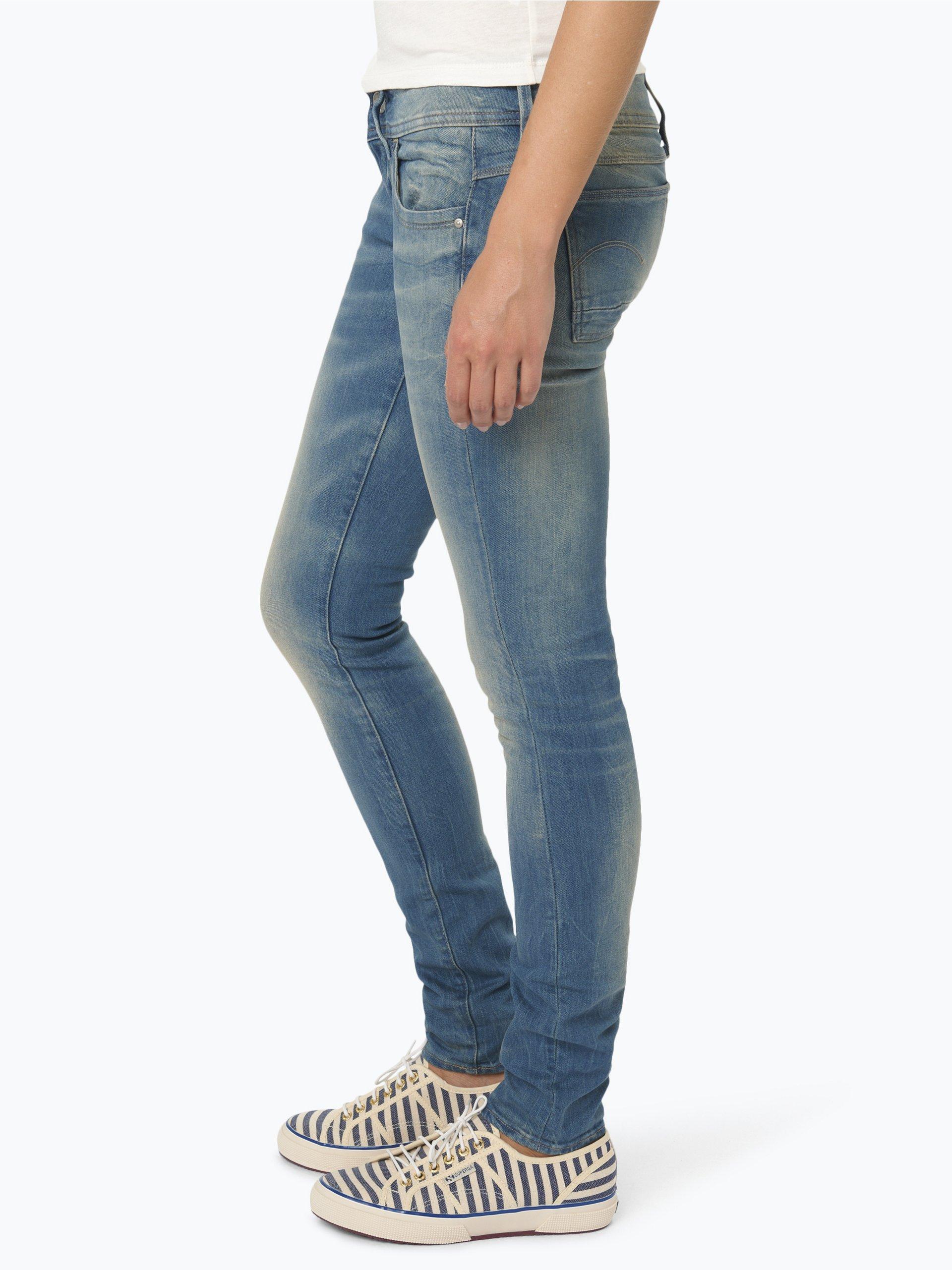 g star damen jeans lynn hellblau uni online kaufen. Black Bedroom Furniture Sets. Home Design Ideas