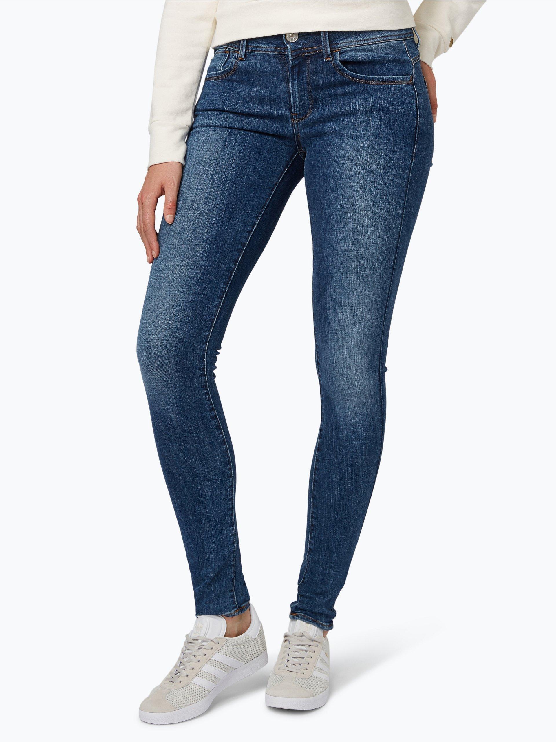 g star damen jeans lynn blau blue stone uni online. Black Bedroom Furniture Sets. Home Design Ideas