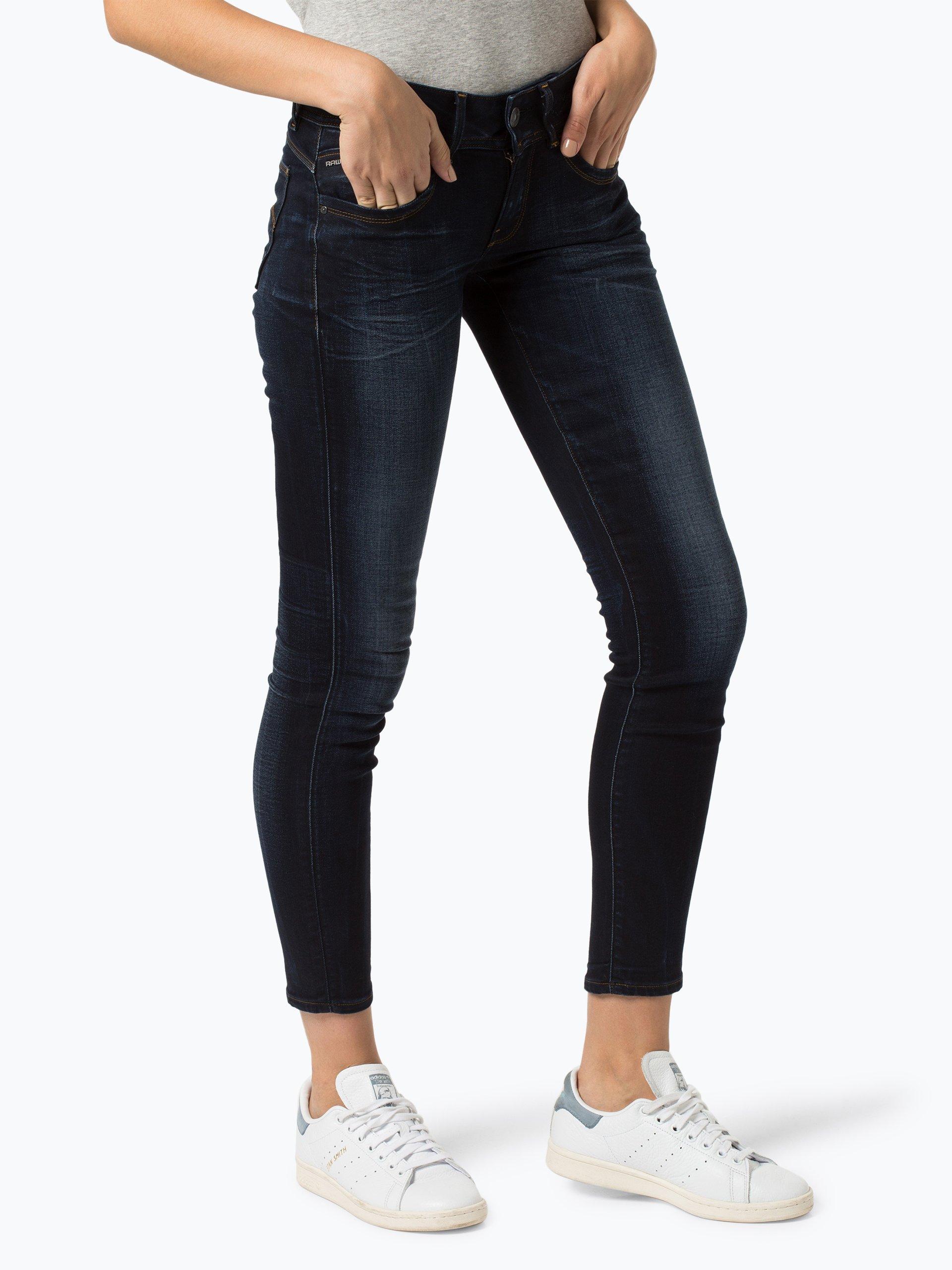 g star damen jeans lynn blau indigo uni online kaufen. Black Bedroom Furniture Sets. Home Design Ideas