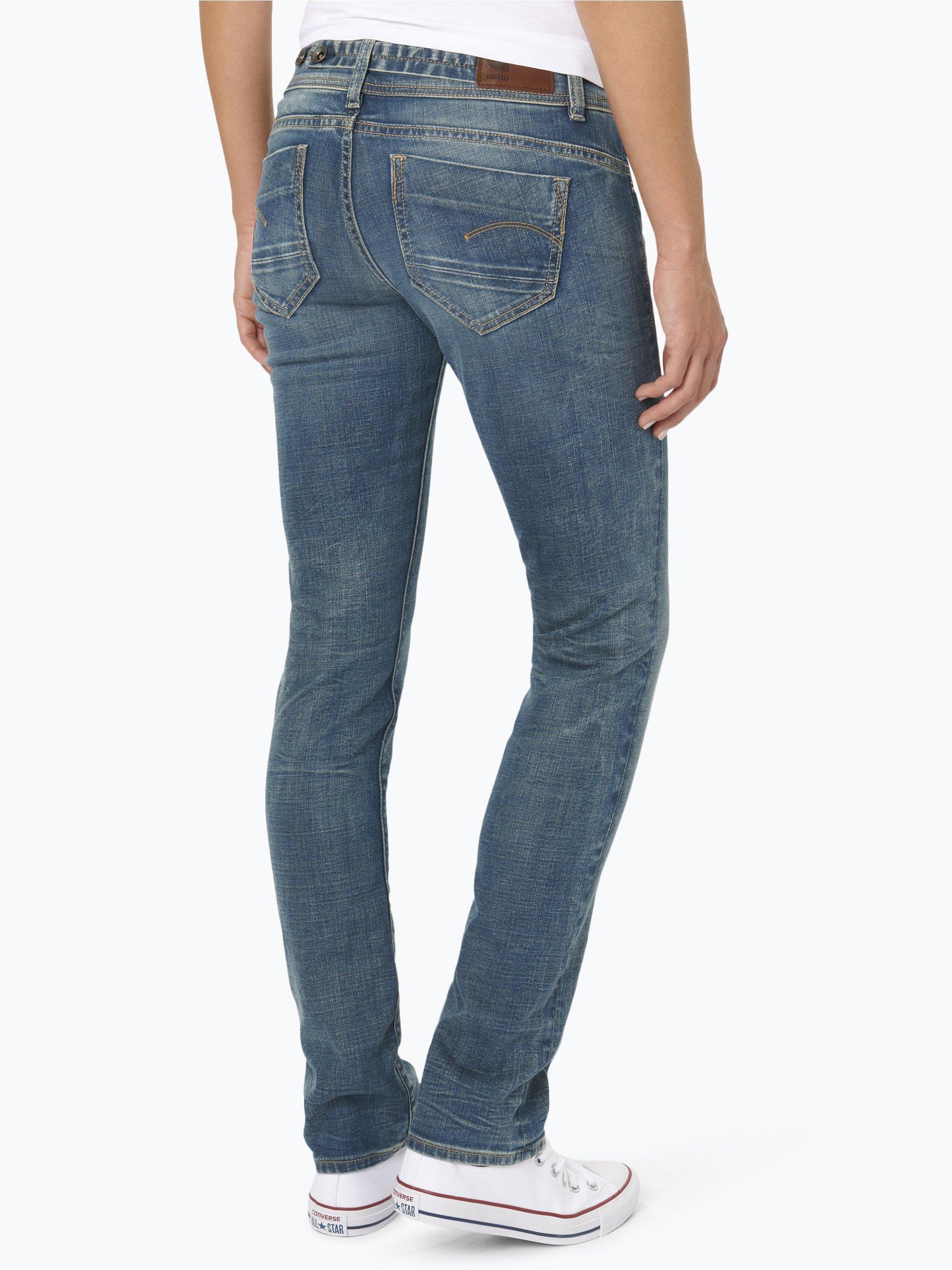 g star damen jeans midge blau uni online kaufen. Black Bedroom Furniture Sets. Home Design Ideas
