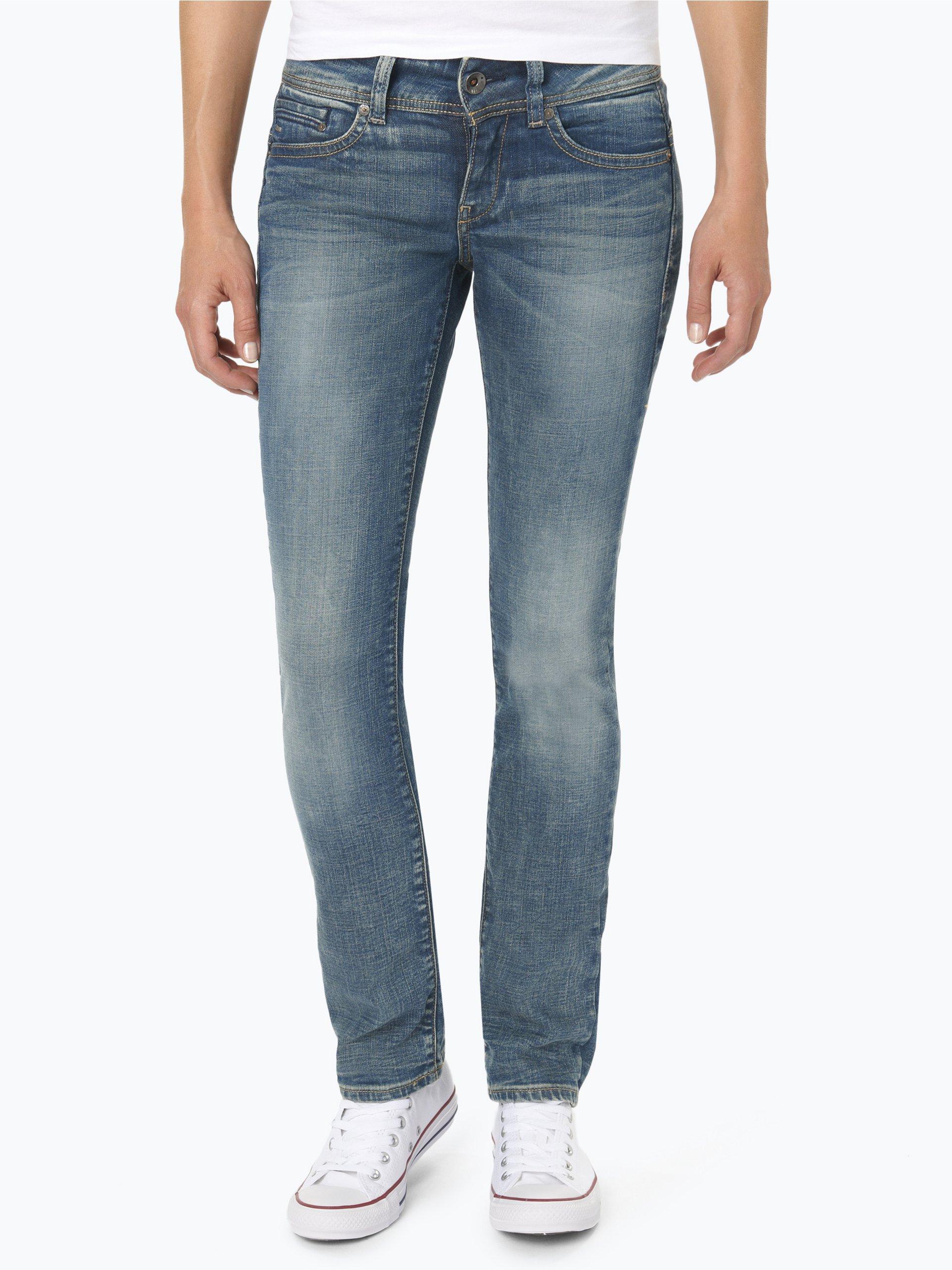 g star damen jeans midge blau uni online kaufen peek. Black Bedroom Furniture Sets. Home Design Ideas