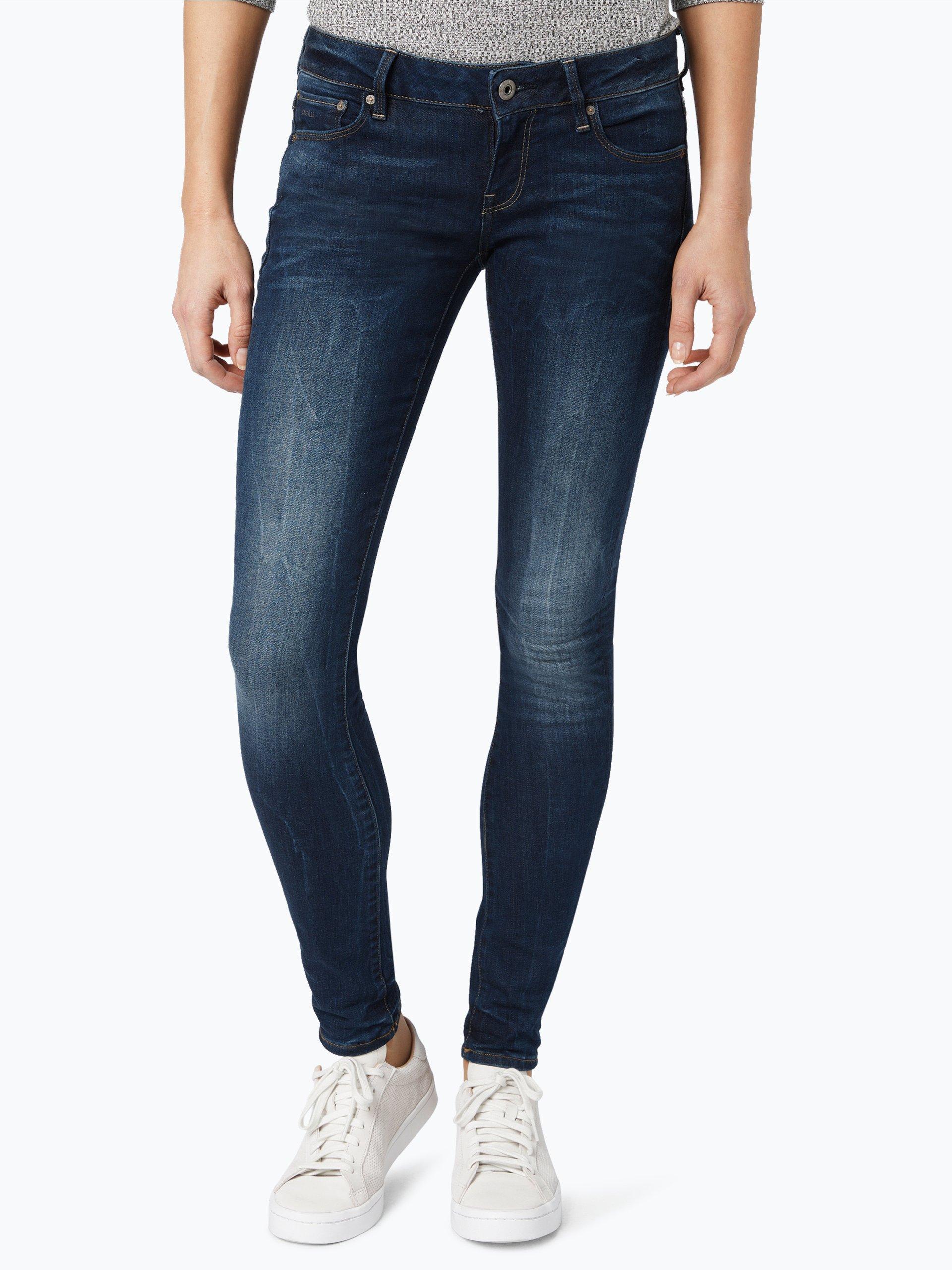 g star damen jeans blau uni online kaufen peek und. Black Bedroom Furniture Sets. Home Design Ideas