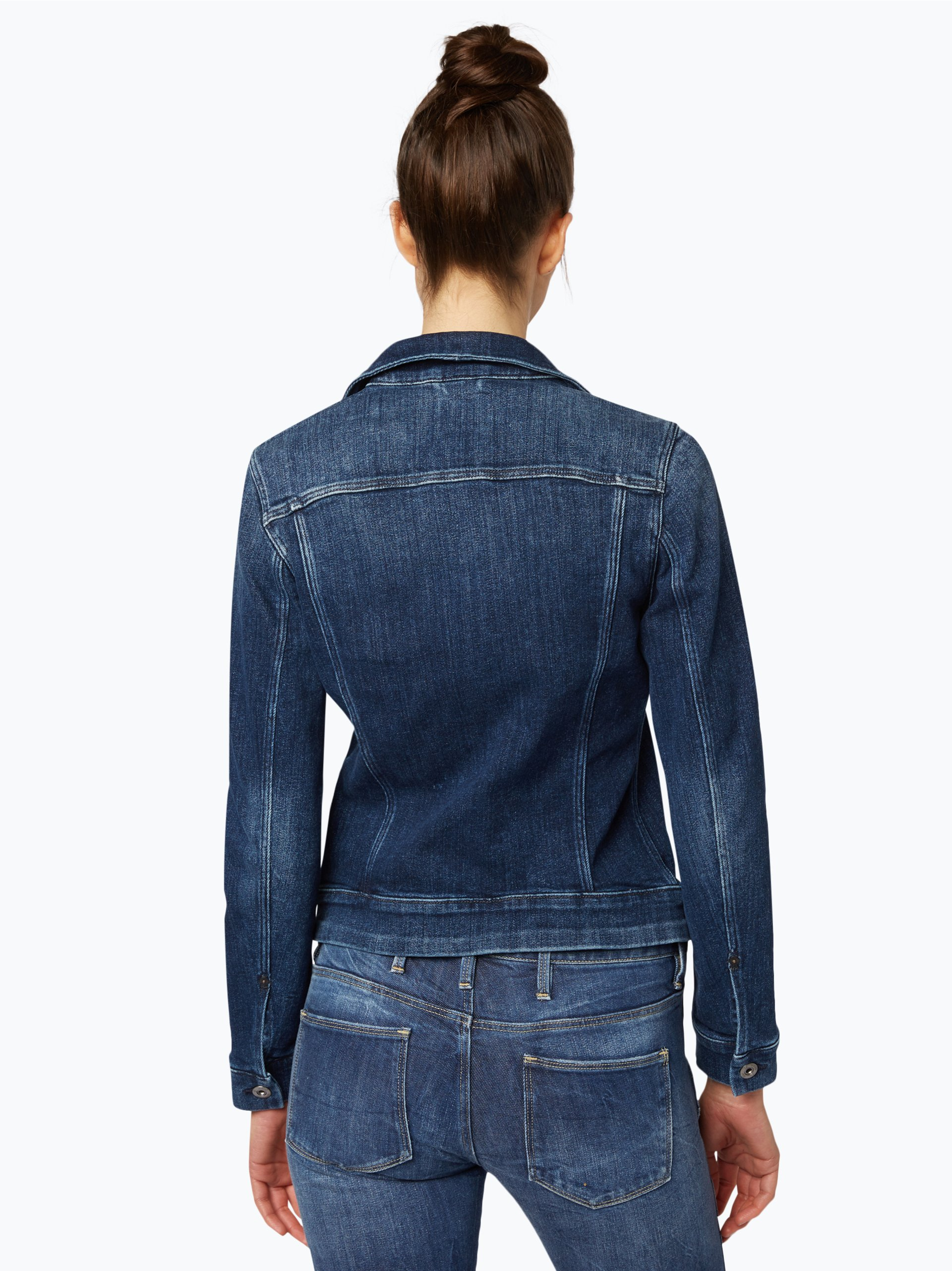 g star damen jeansjacke blau uni online kaufen vangraaf com. Black Bedroom Furniture Sets. Home Design Ideas