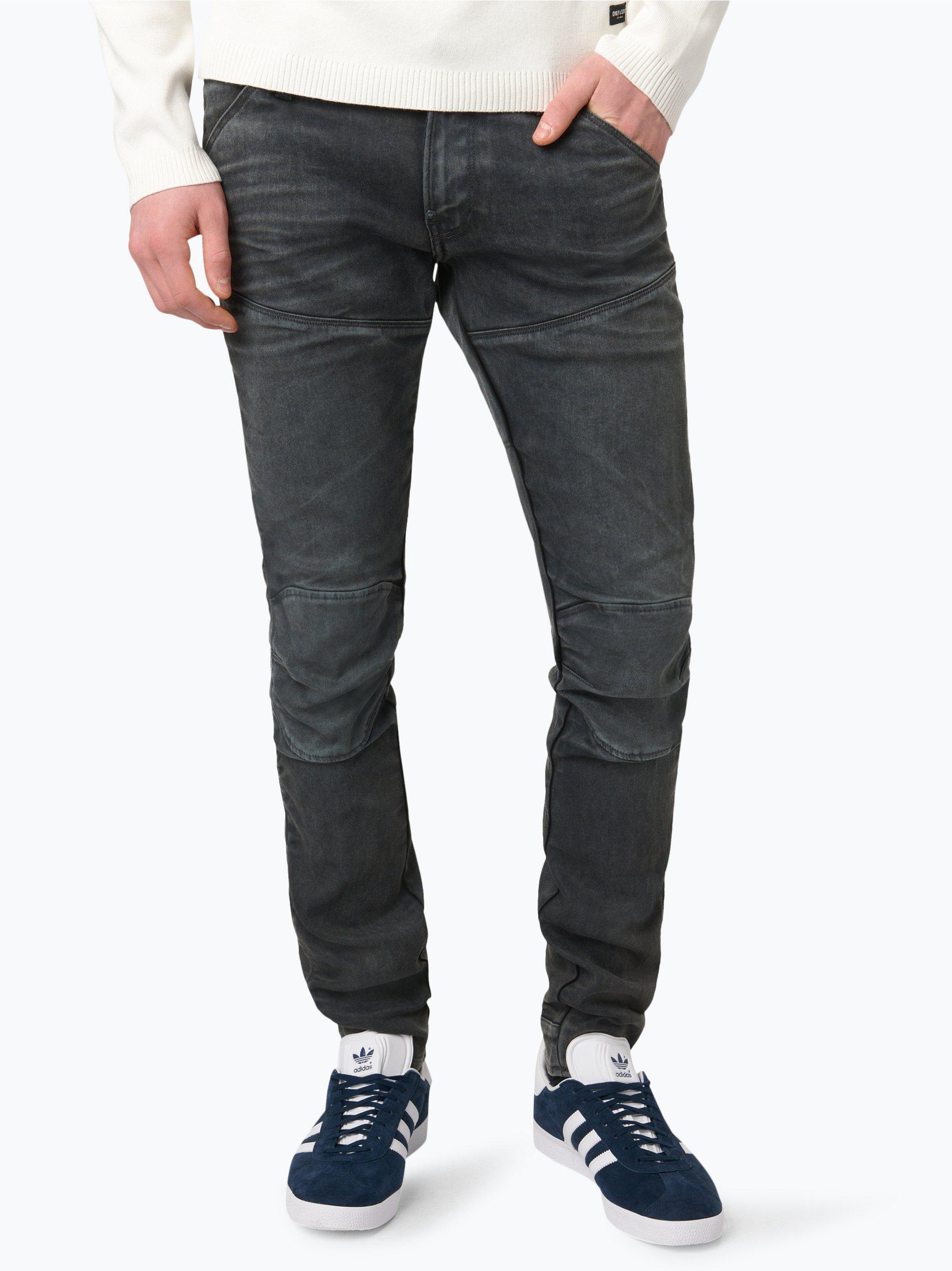 g star herren jeans 5620 elwood grau uni online kaufen. Black Bedroom Furniture Sets. Home Design Ideas