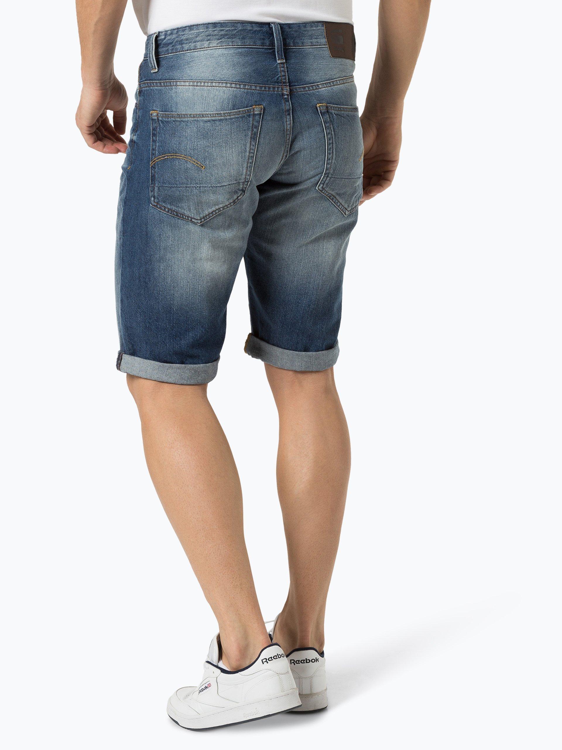 g star herren jeansshorts 3301 online kaufen vangraaf com. Black Bedroom Furniture Sets. Home Design Ideas
