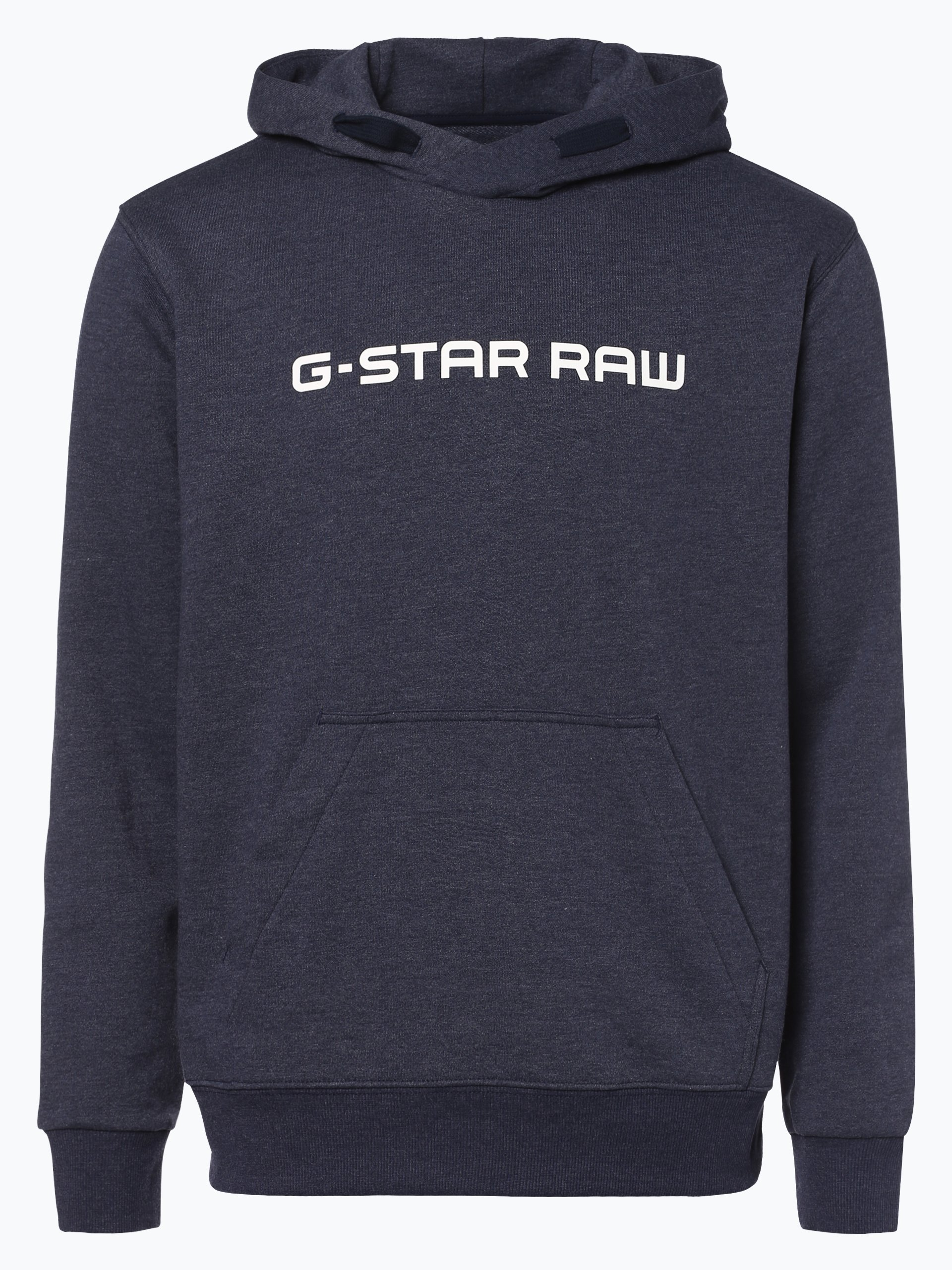 g star herren sweatshirt loaq hooded indigo bedruckt. Black Bedroom Furniture Sets. Home Design Ideas