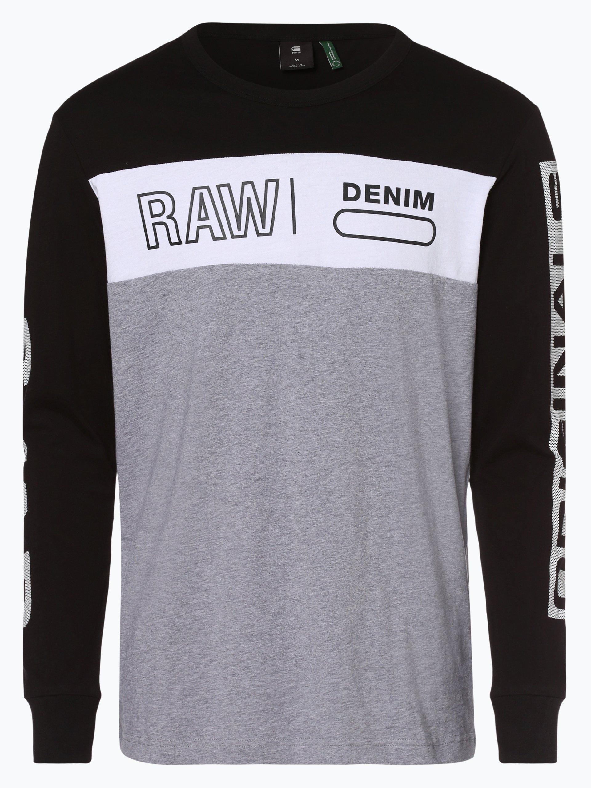 G-Star RAW Męska koszulka z długim rękawem – Swando