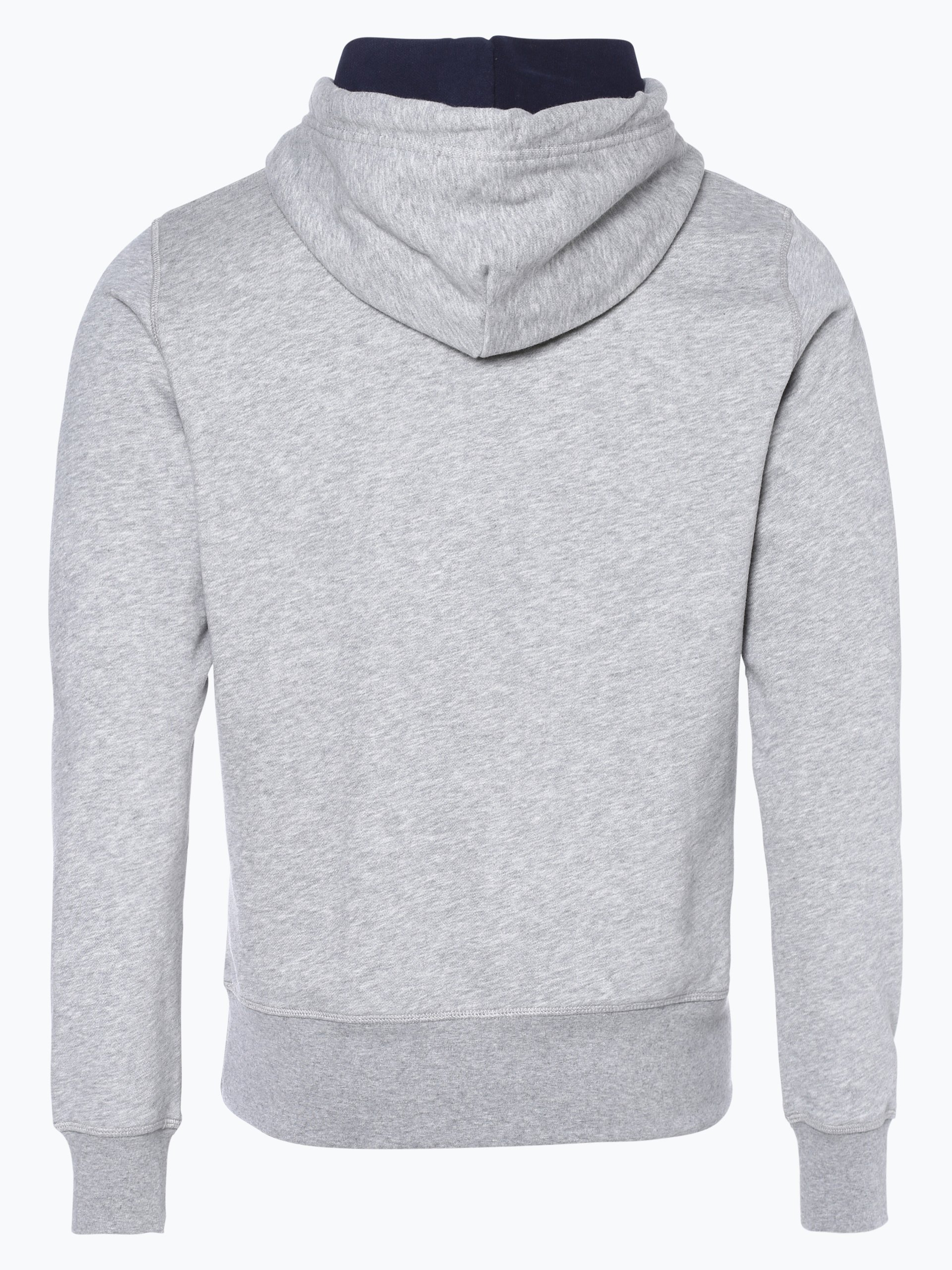 gant herren sweatshirt grau gemustert online kaufen peek. Black Bedroom Furniture Sets. Home Design Ideas