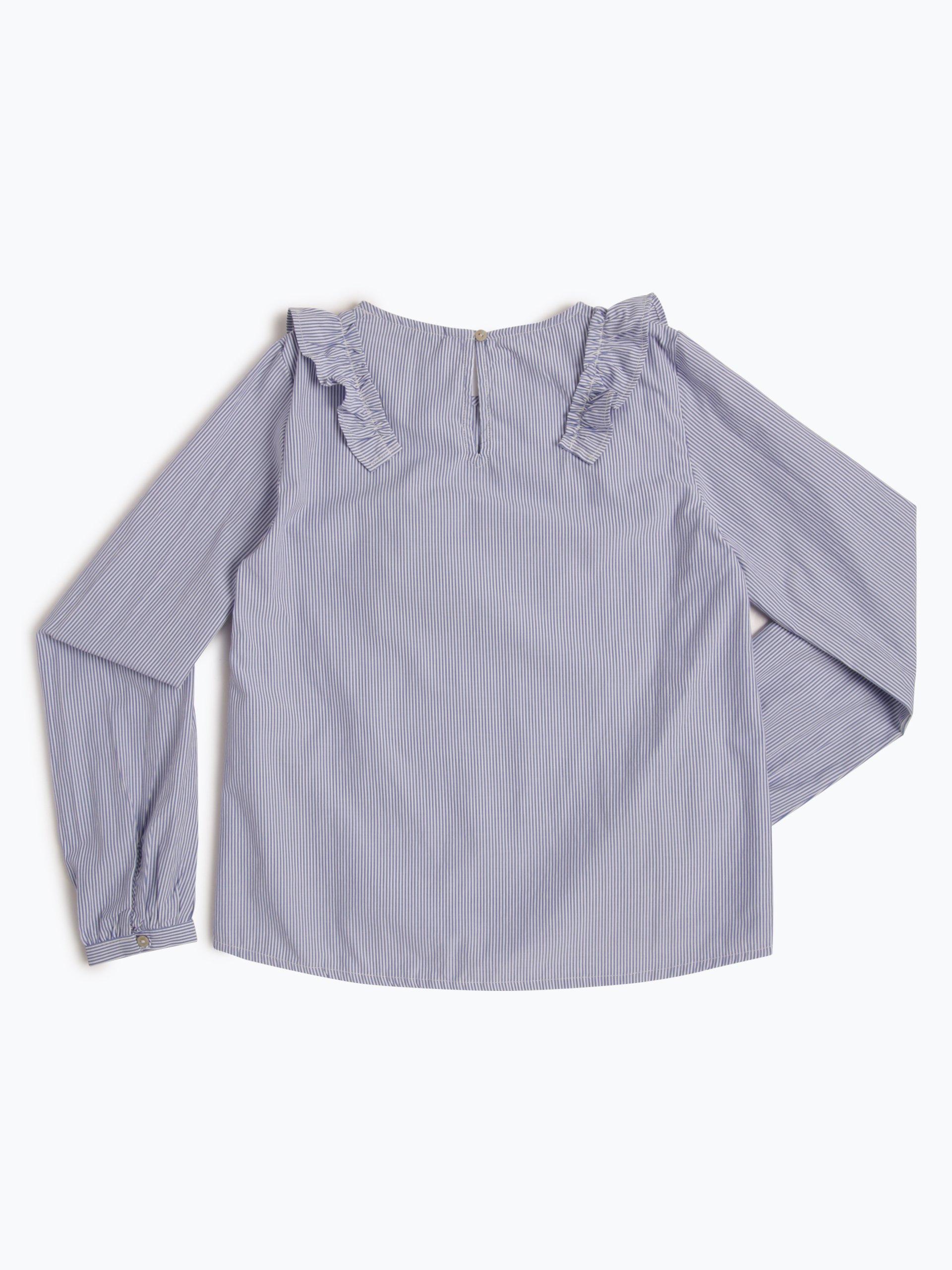 garcia m dchen bluse blau uni online kaufen peek und. Black Bedroom Furniture Sets. Home Design Ideas