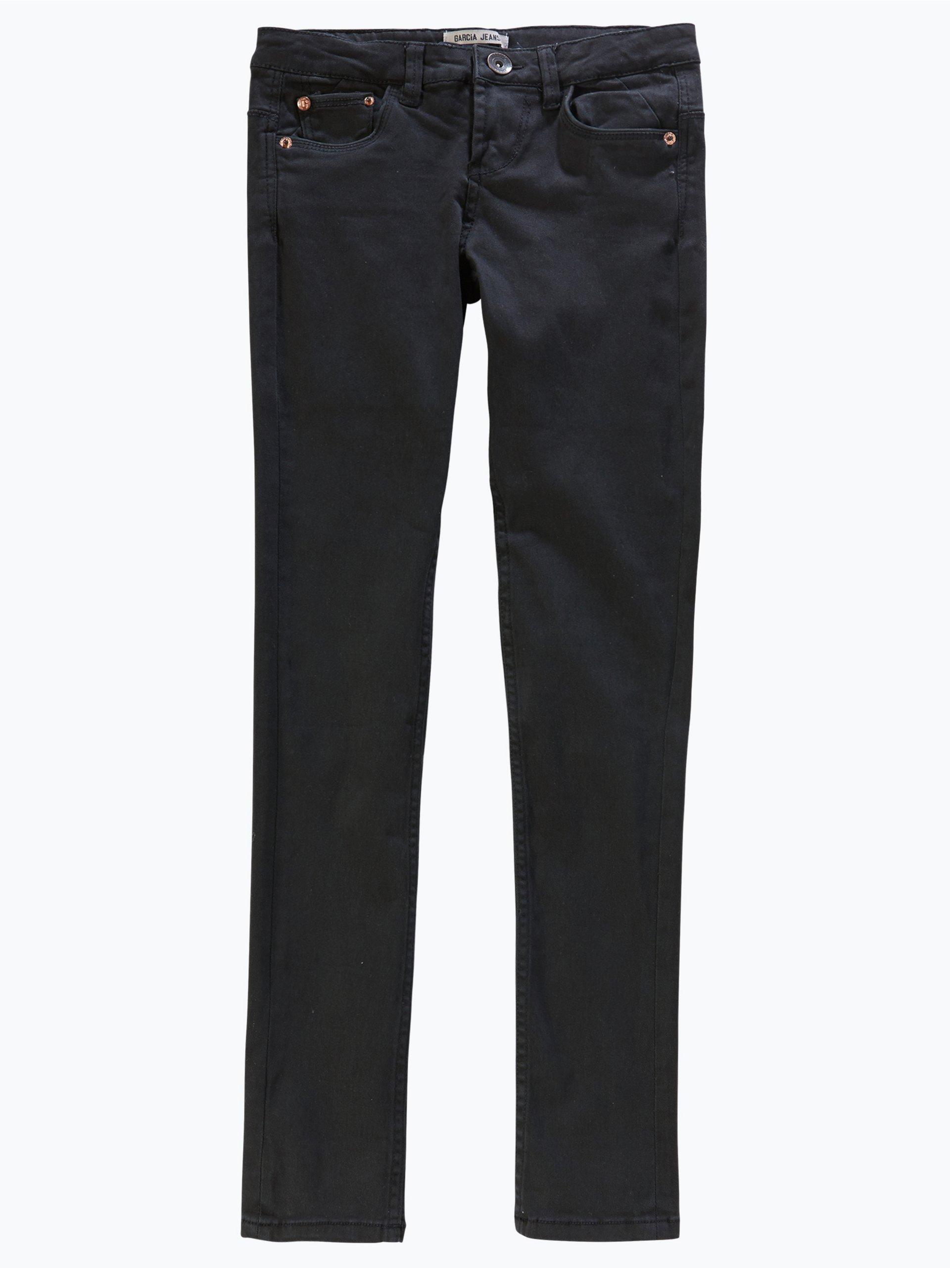 garcia m dchen jeans sara superslim schwarz uni online. Black Bedroom Furniture Sets. Home Design Ideas