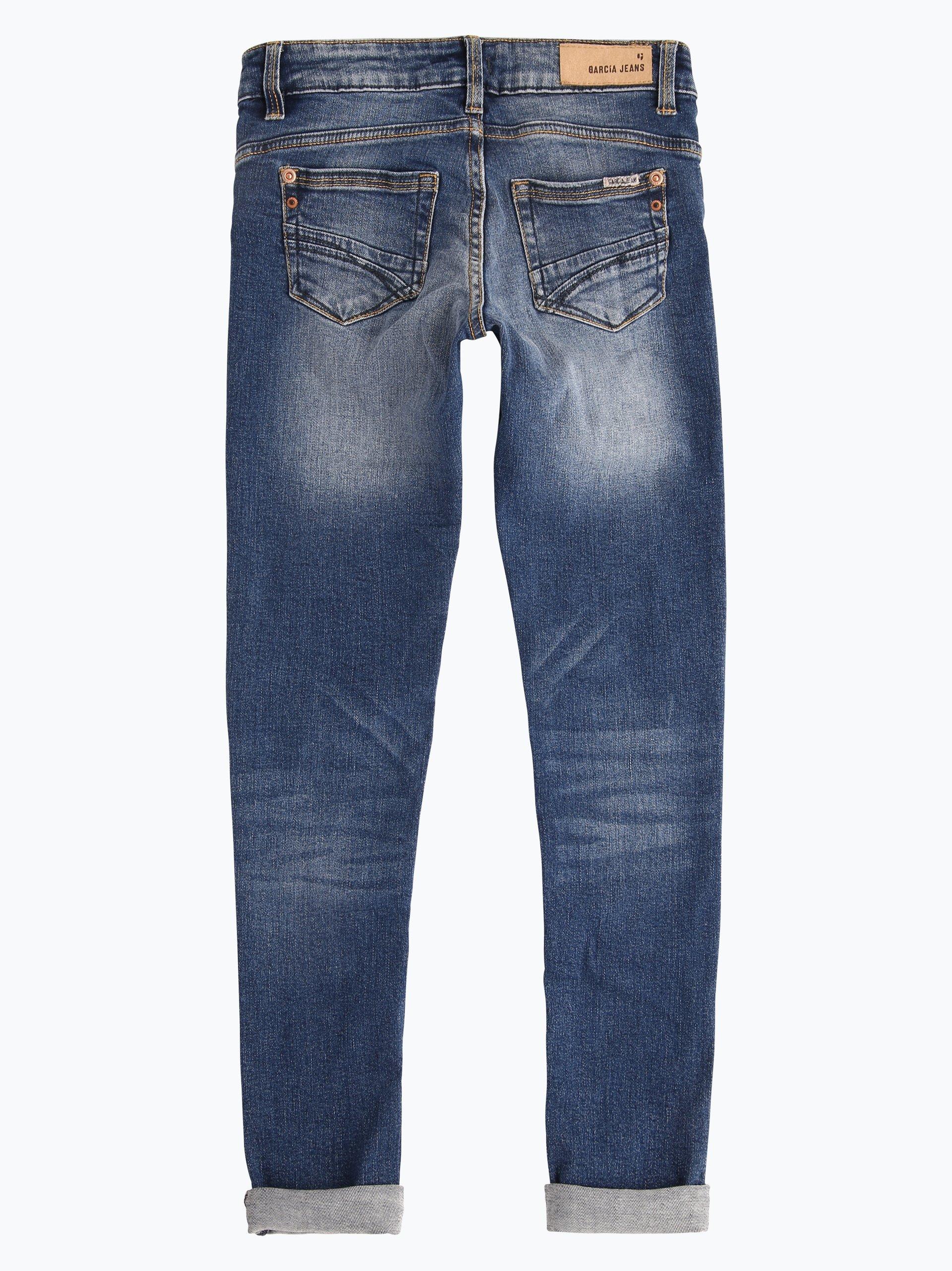 garcia m dchen jeans sara superslim indigo uni online. Black Bedroom Furniture Sets. Home Design Ideas