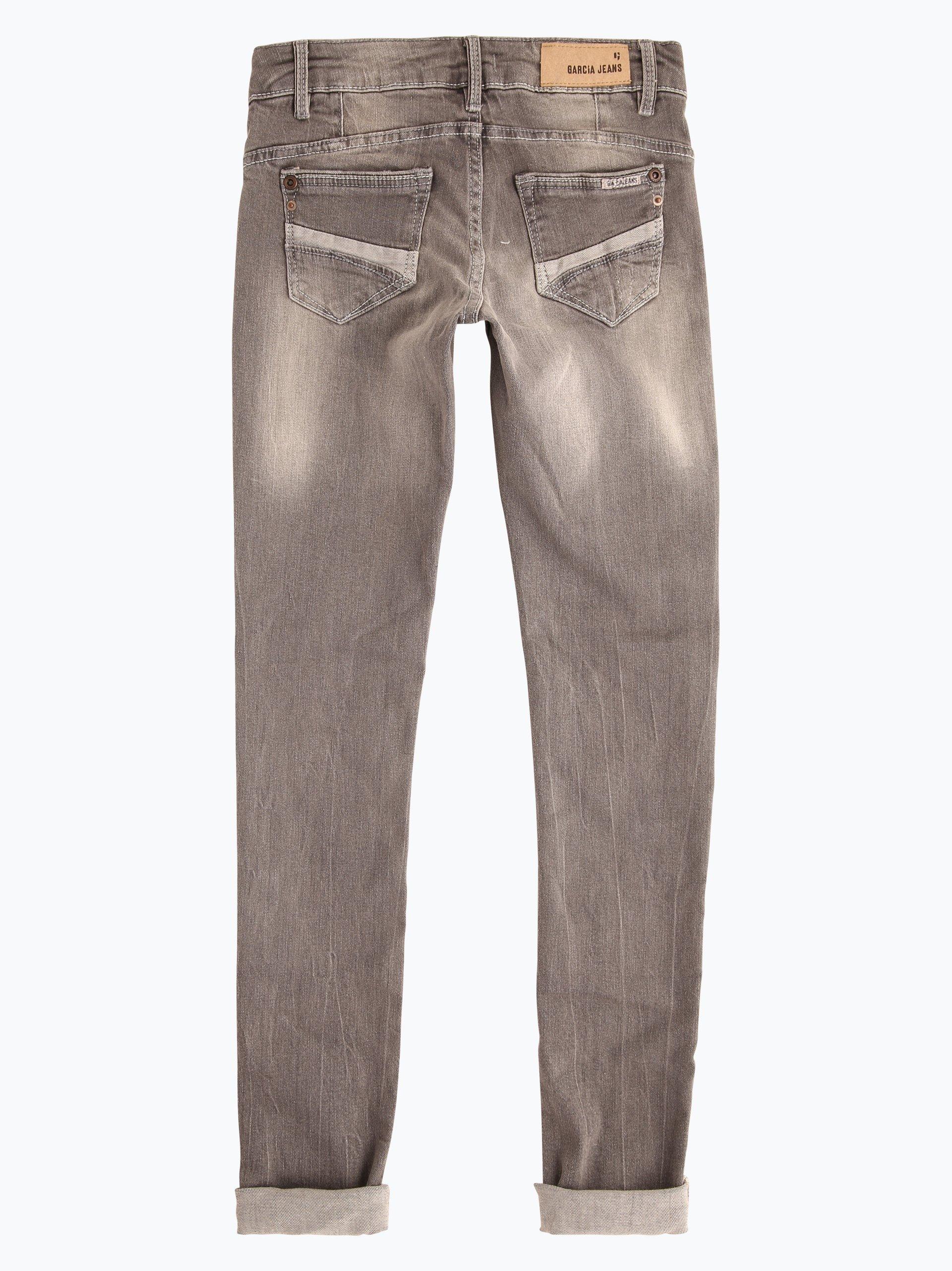 garcia m dchen jeans sara superslim grau uni online. Black Bedroom Furniture Sets. Home Design Ideas