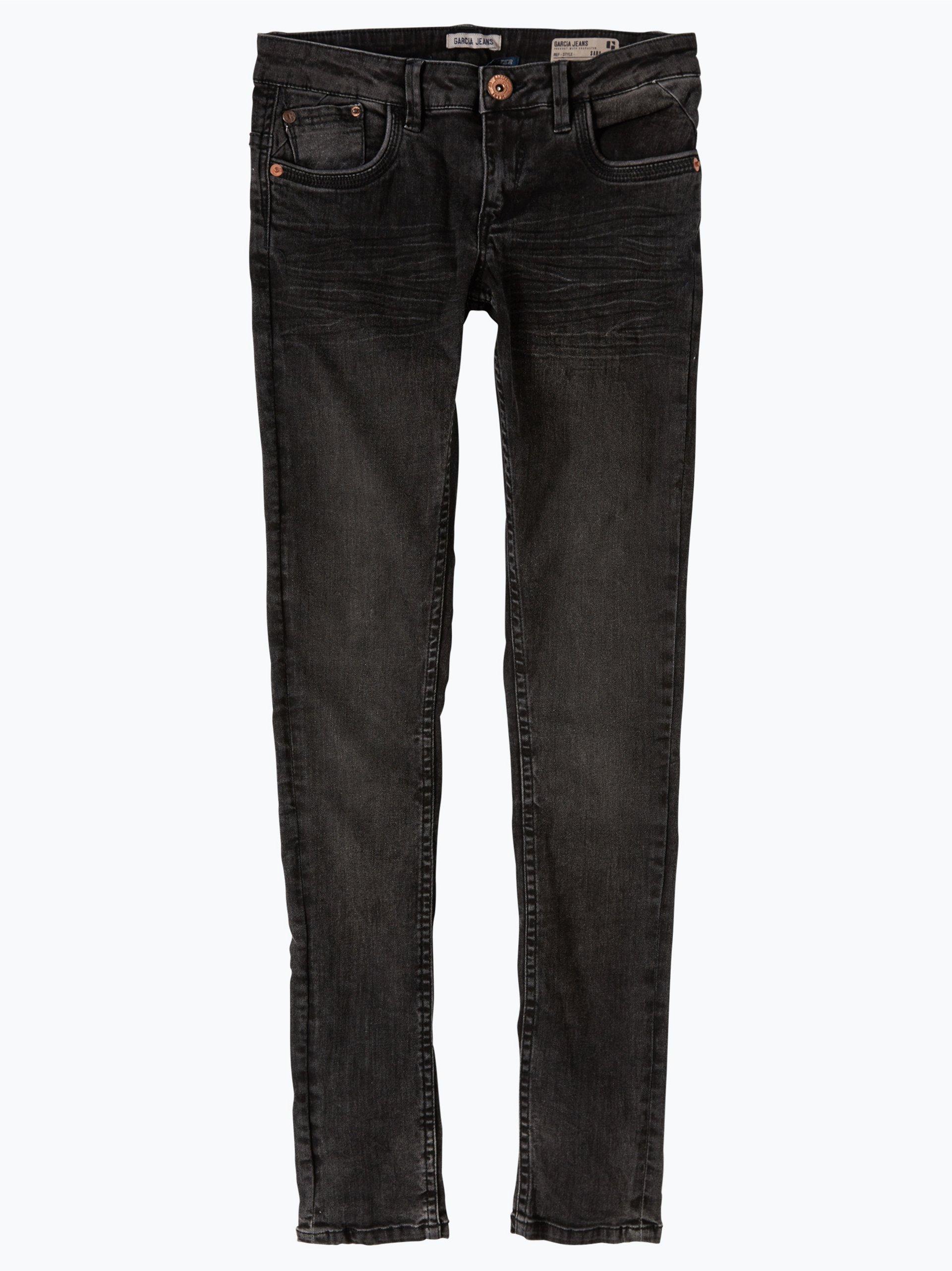 garcia m dchen jeans sara anthrazit uni online kaufen. Black Bedroom Furniture Sets. Home Design Ideas