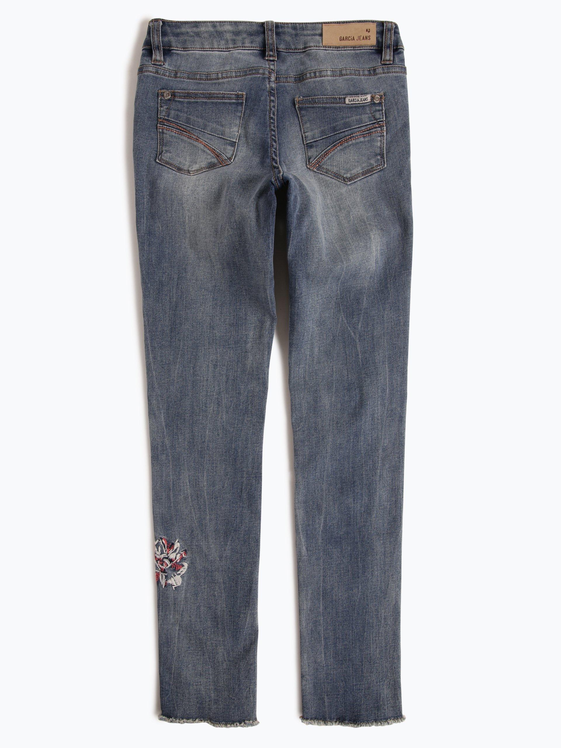 garcia m dchen jeans super slim fit sara superslim denim. Black Bedroom Furniture Sets. Home Design Ideas
