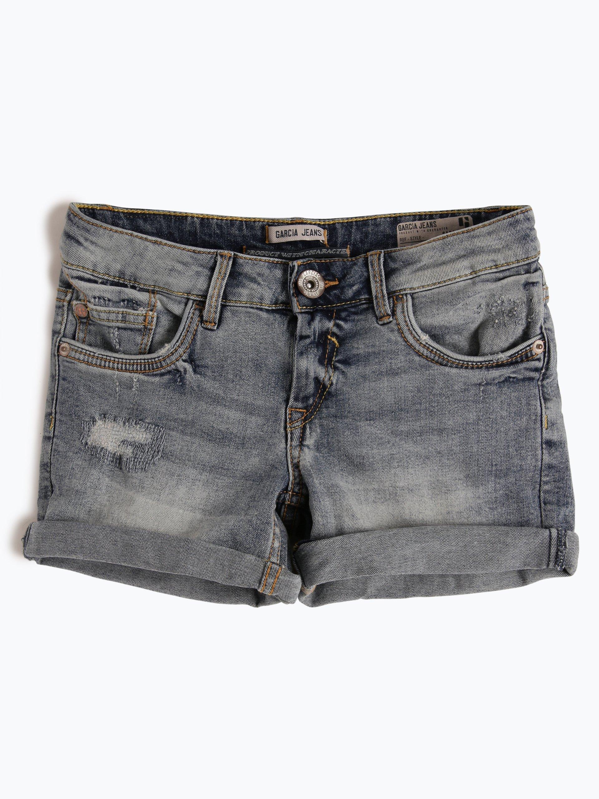 garcia m dchen shorts sara indigo uni online kaufen. Black Bedroom Furniture Sets. Home Design Ideas