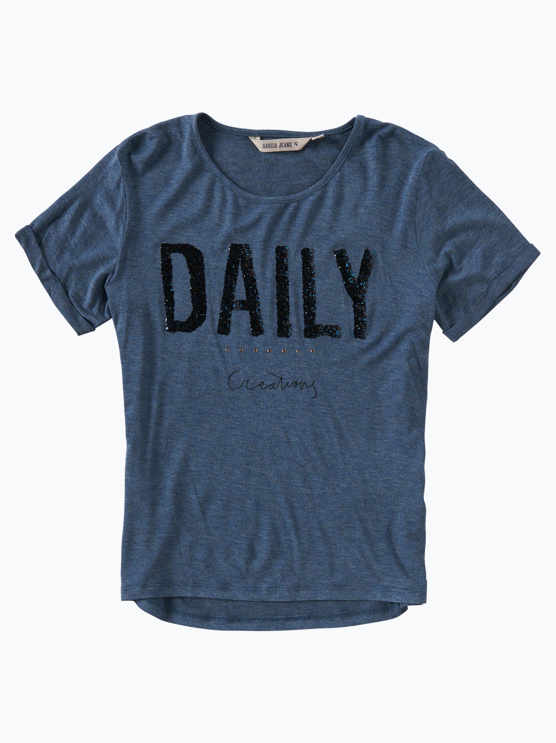 garcia m dchen t shirt mehrfarbig uni online kaufen peek. Black Bedroom Furniture Sets. Home Design Ideas