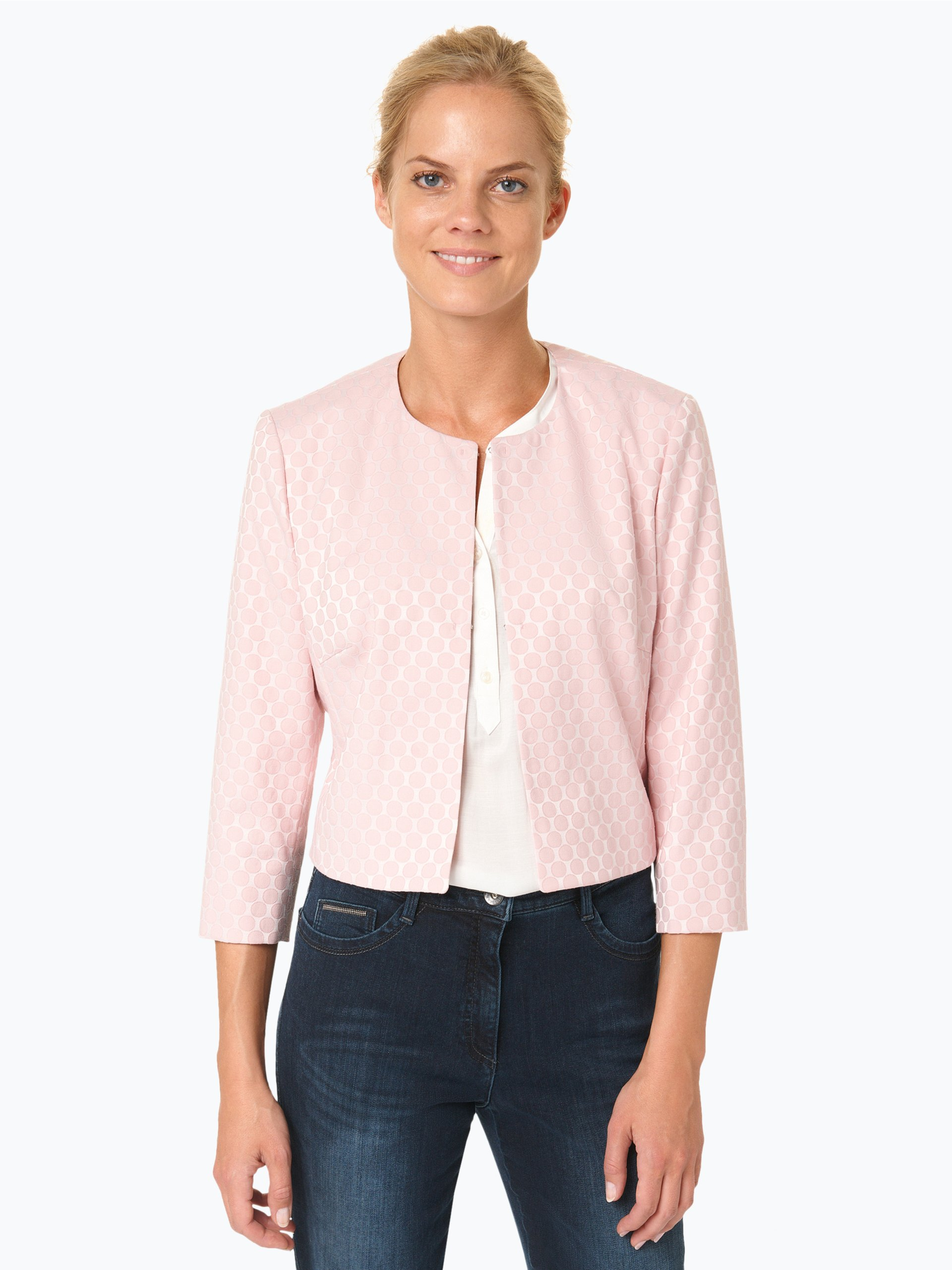 gerry weber damen blazer lemon twist rosa gepunktet online kaufen vangraaf com. Black Bedroom Furniture Sets. Home Design Ideas