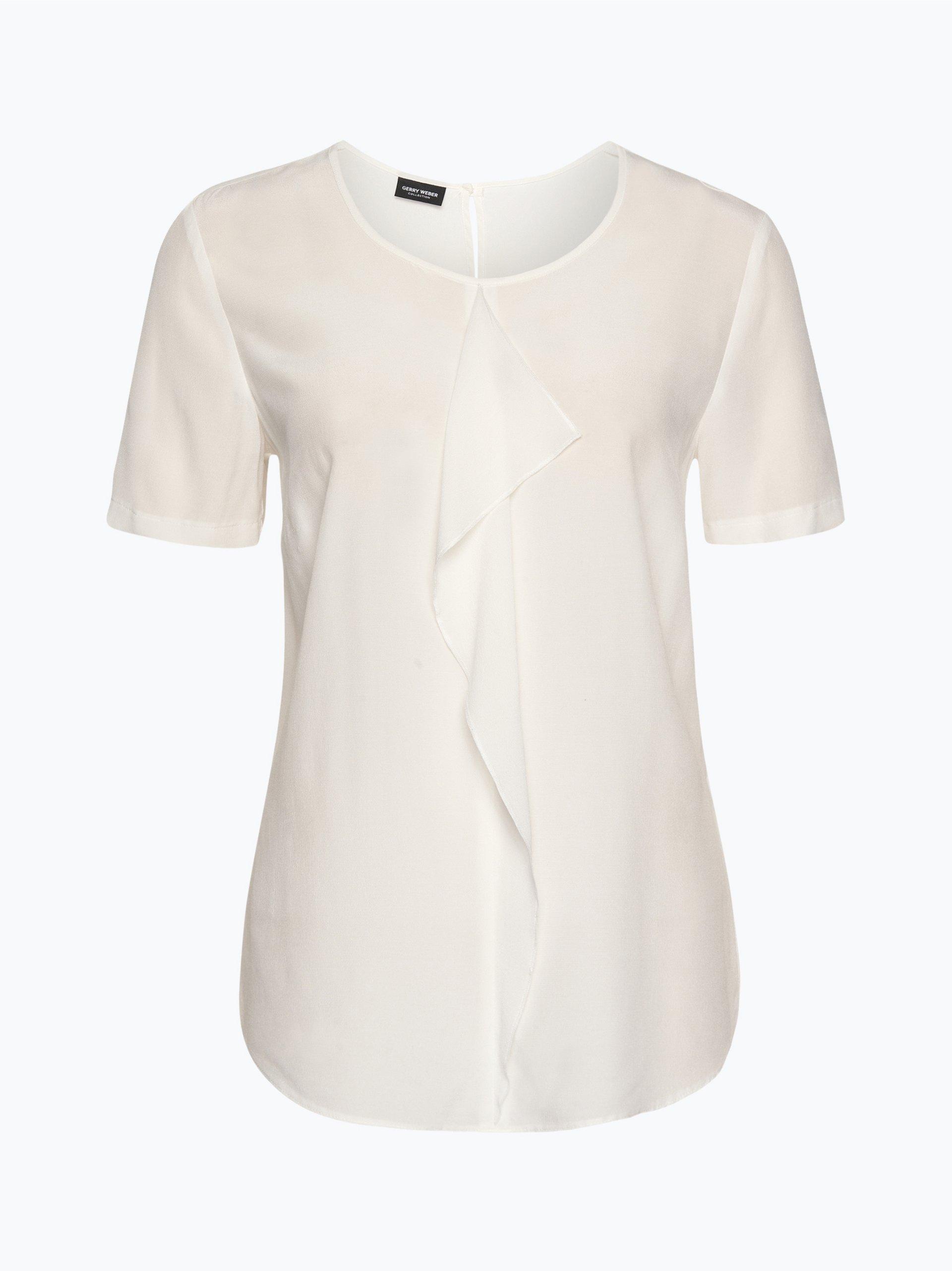 gerry weber damen bluse ecru uni online kaufen peek und cloppenburg de. Black Bedroom Furniture Sets. Home Design Ideas