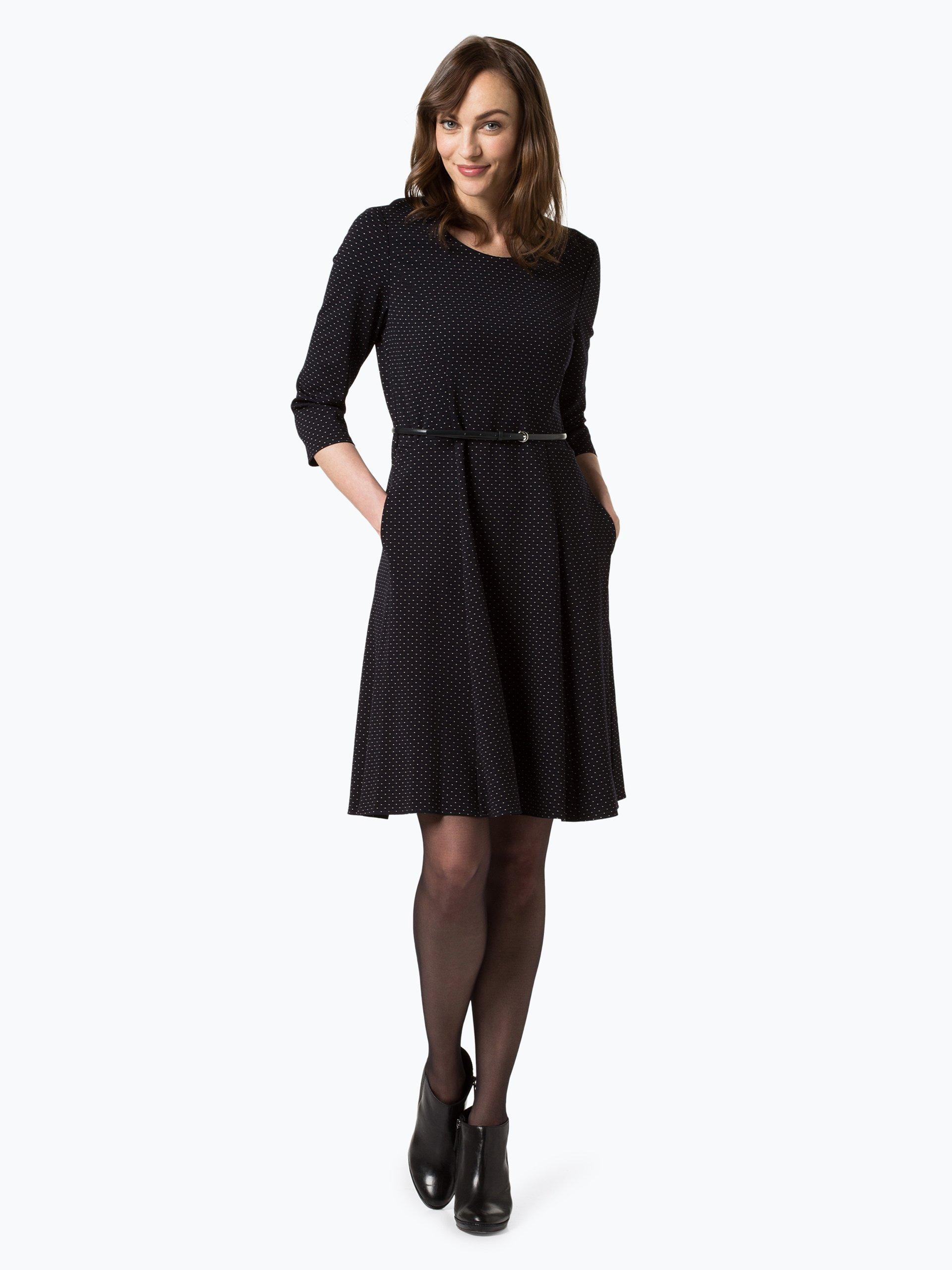 gerry weber damen kleid marine gepunktet online kaufen peek und cloppenburg de. Black Bedroom Furniture Sets. Home Design Ideas