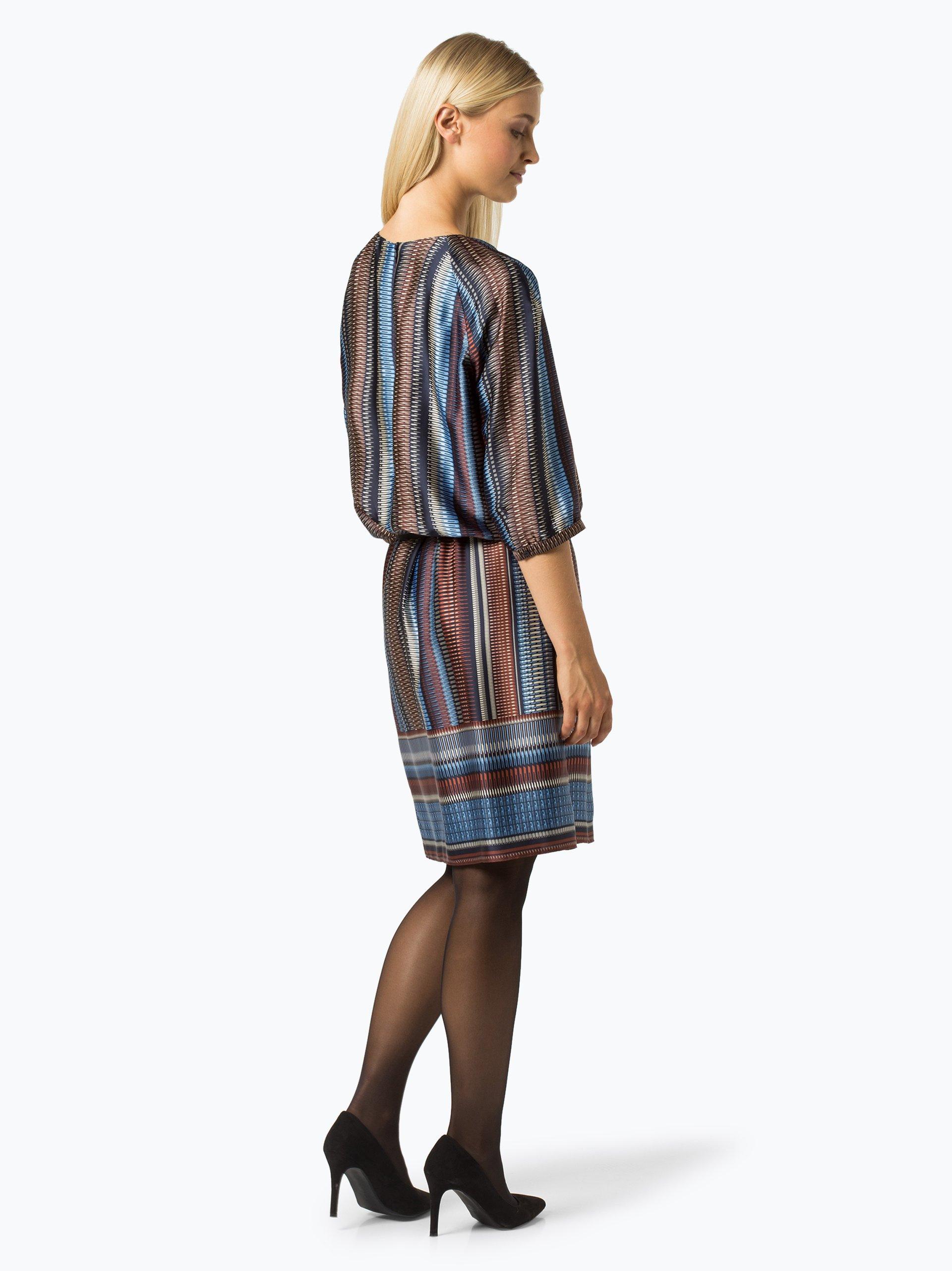 gerry weber damen kleid aqua gemustert online kaufen peek und cloppenburg de. Black Bedroom Furniture Sets. Home Design Ideas