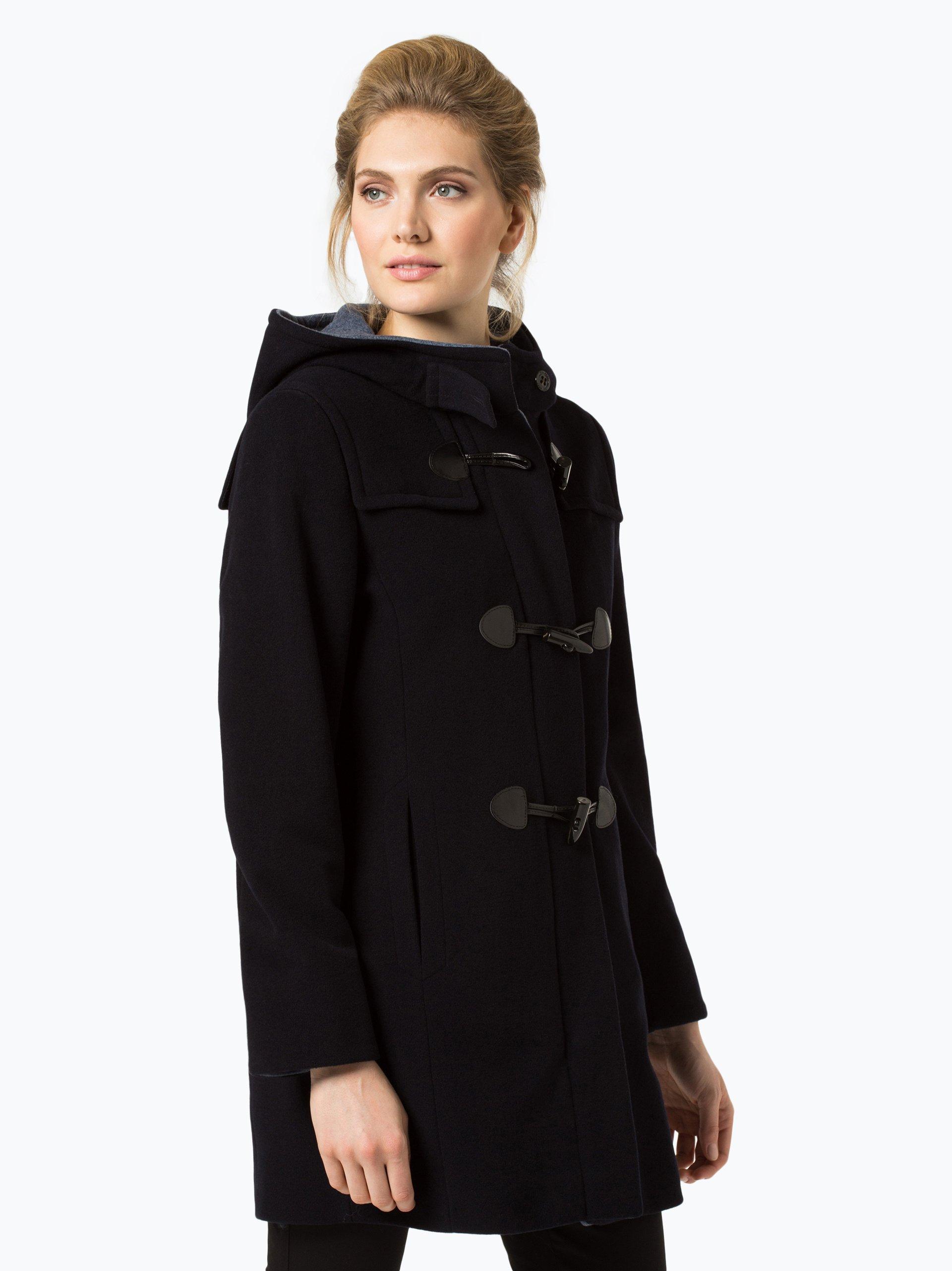 gil bret damen mantel mit cashmere anteil marine uni online kaufen vangraaf com. Black Bedroom Furniture Sets. Home Design Ideas