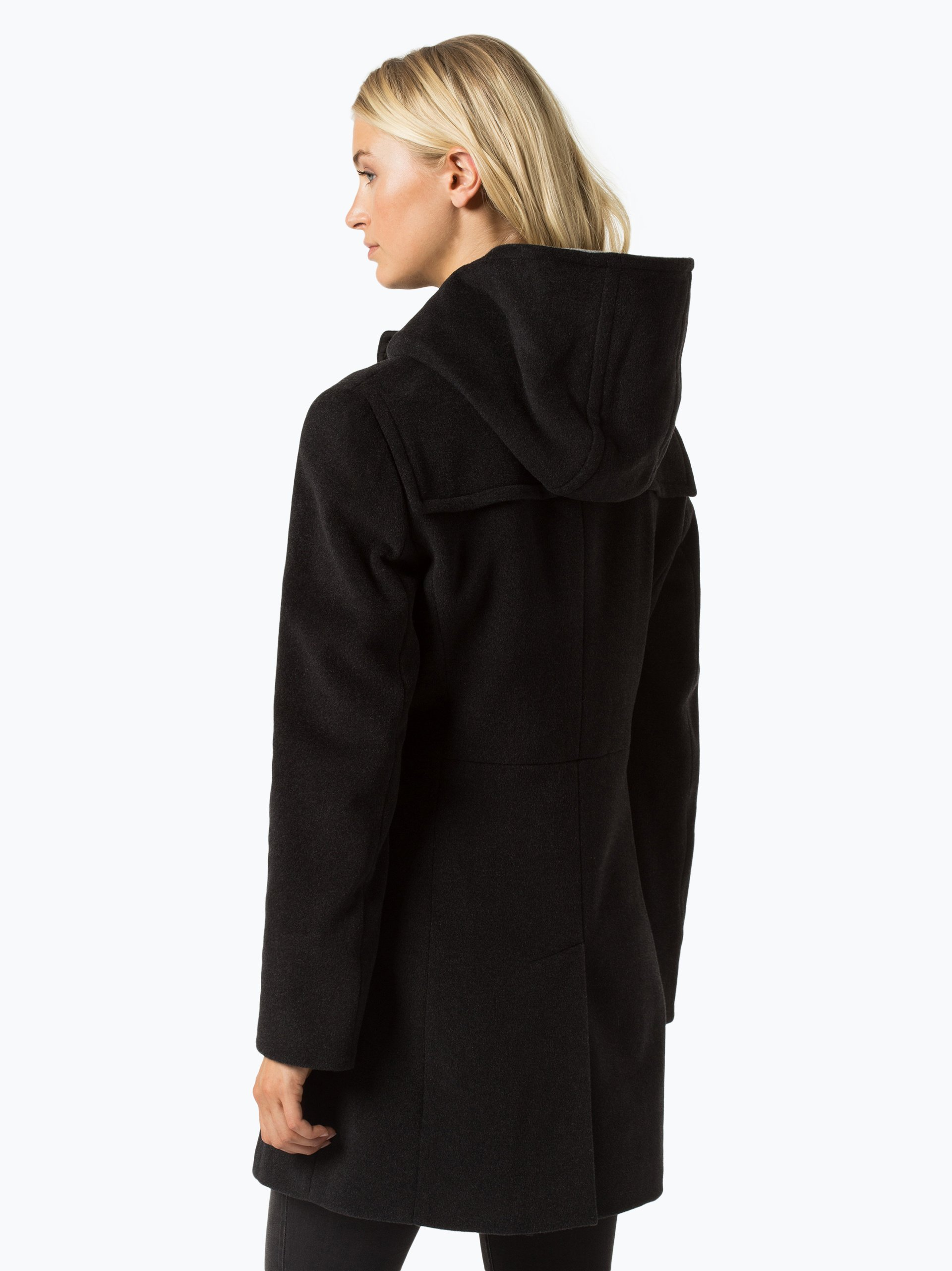 gil bret damen mantel mit cashmere anteil anthrazit uni online kaufen peek und cloppenburg de. Black Bedroom Furniture Sets. Home Design Ideas